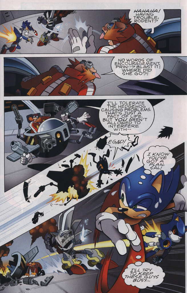 Read online Sonic the Hedgehog Free Comic Book Day Edition comic -  Issue # Special 6 - 17