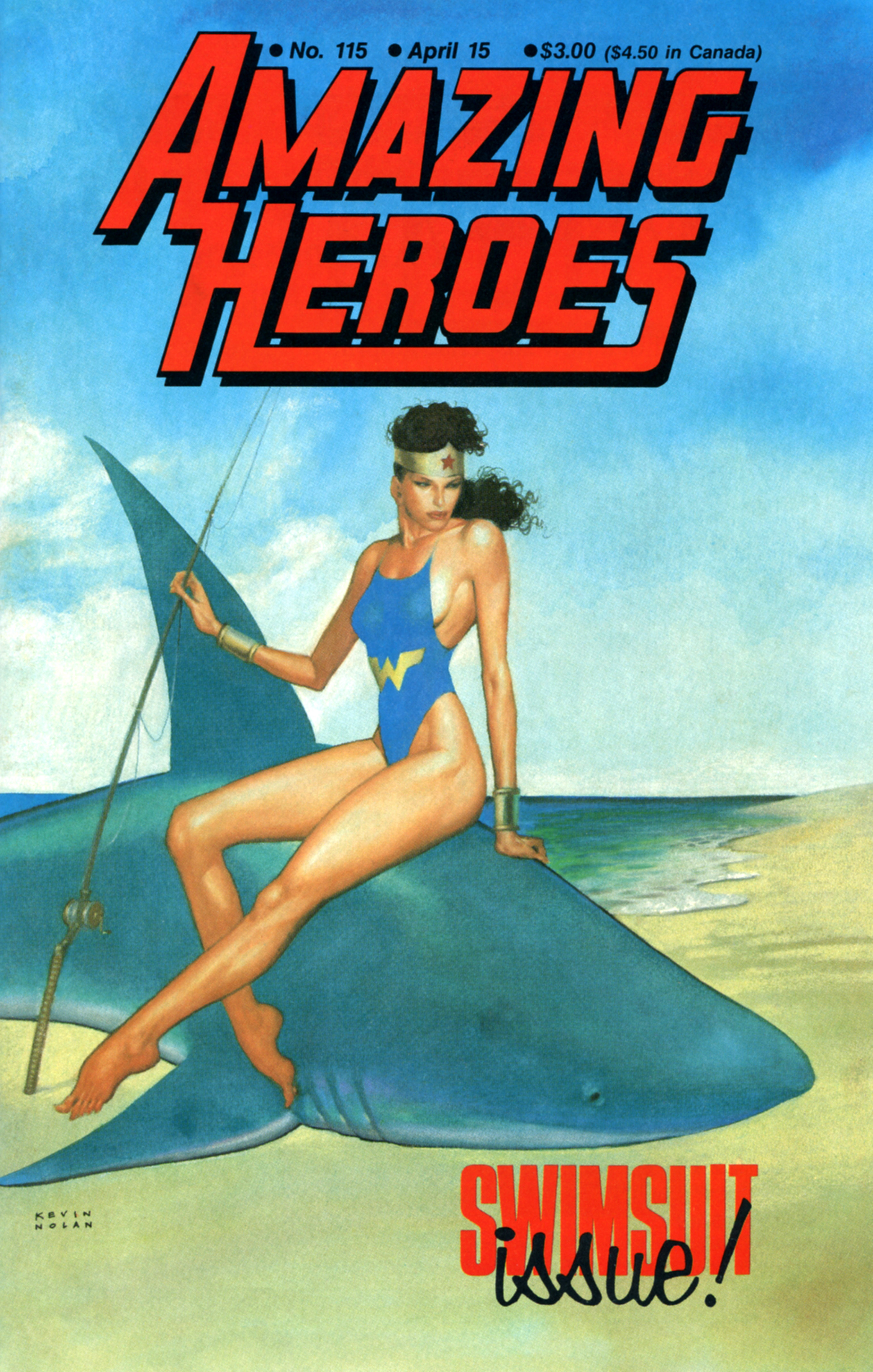 Read online Amazing Heroes comic -  Issue #115 - 1