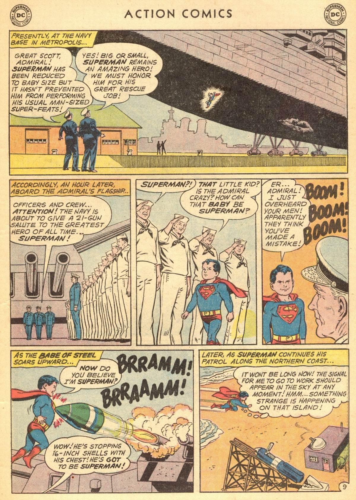 Read online Action Comics (1938) comic -  Issue #284 - 11
