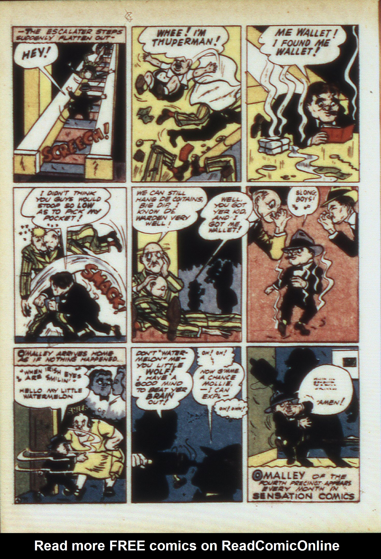 Read online Sensation (Mystery) Comics comic -  Issue #9 - 36