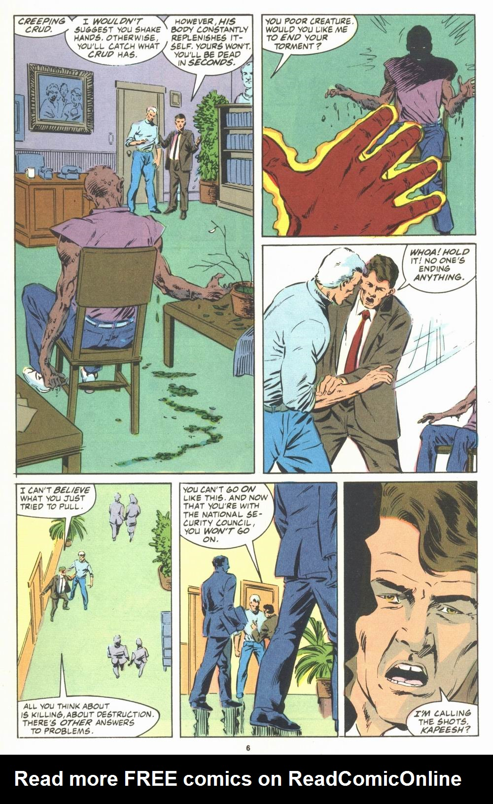 Read online Justice (1986) comic -  Issue #23 - 8