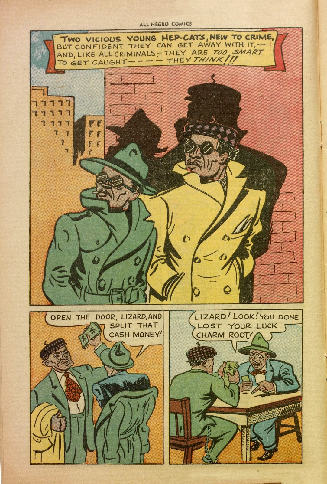 All-Negro Comics issue Full - Page 12