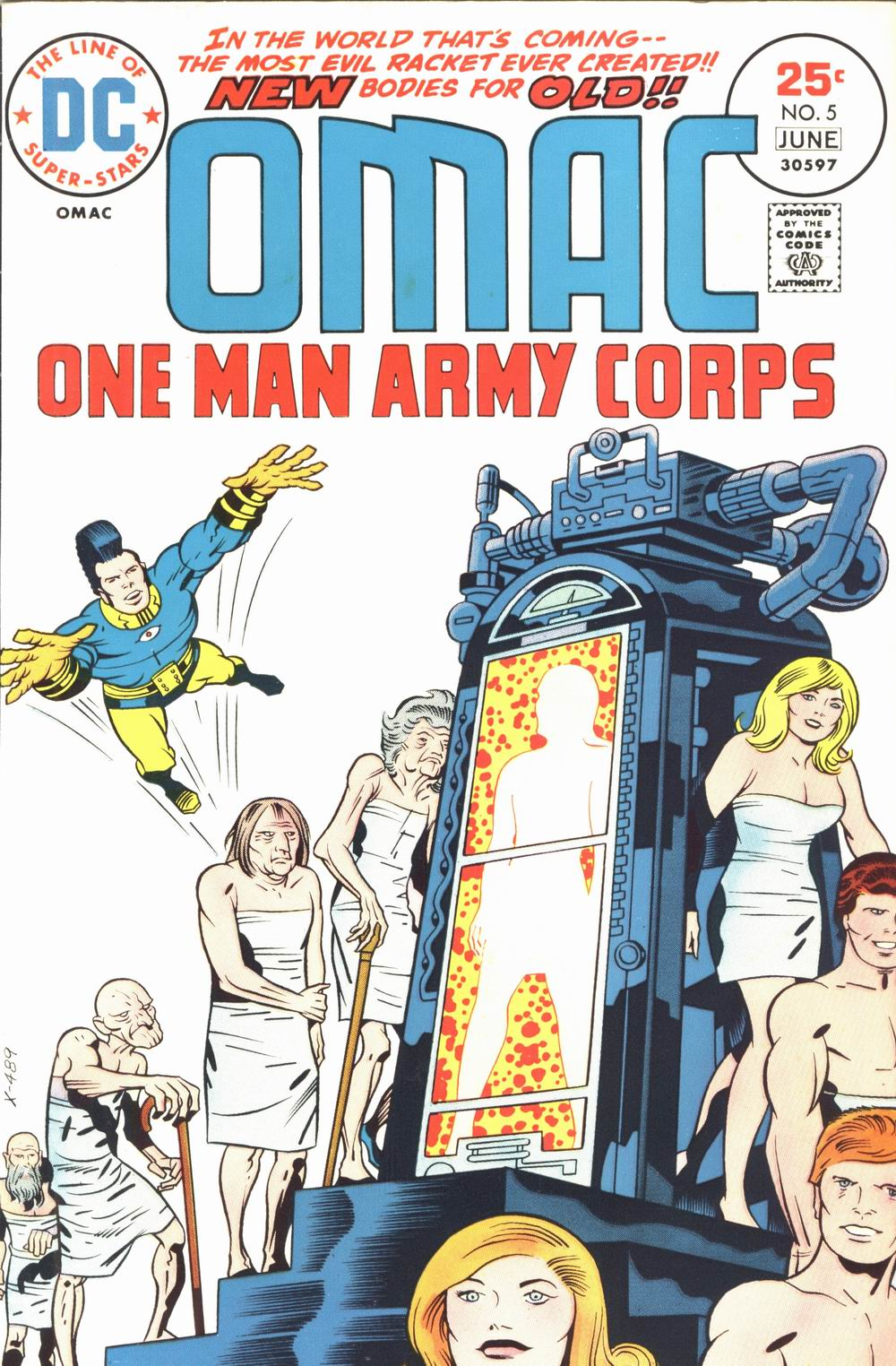 OMAC (1974) 5 Page 1