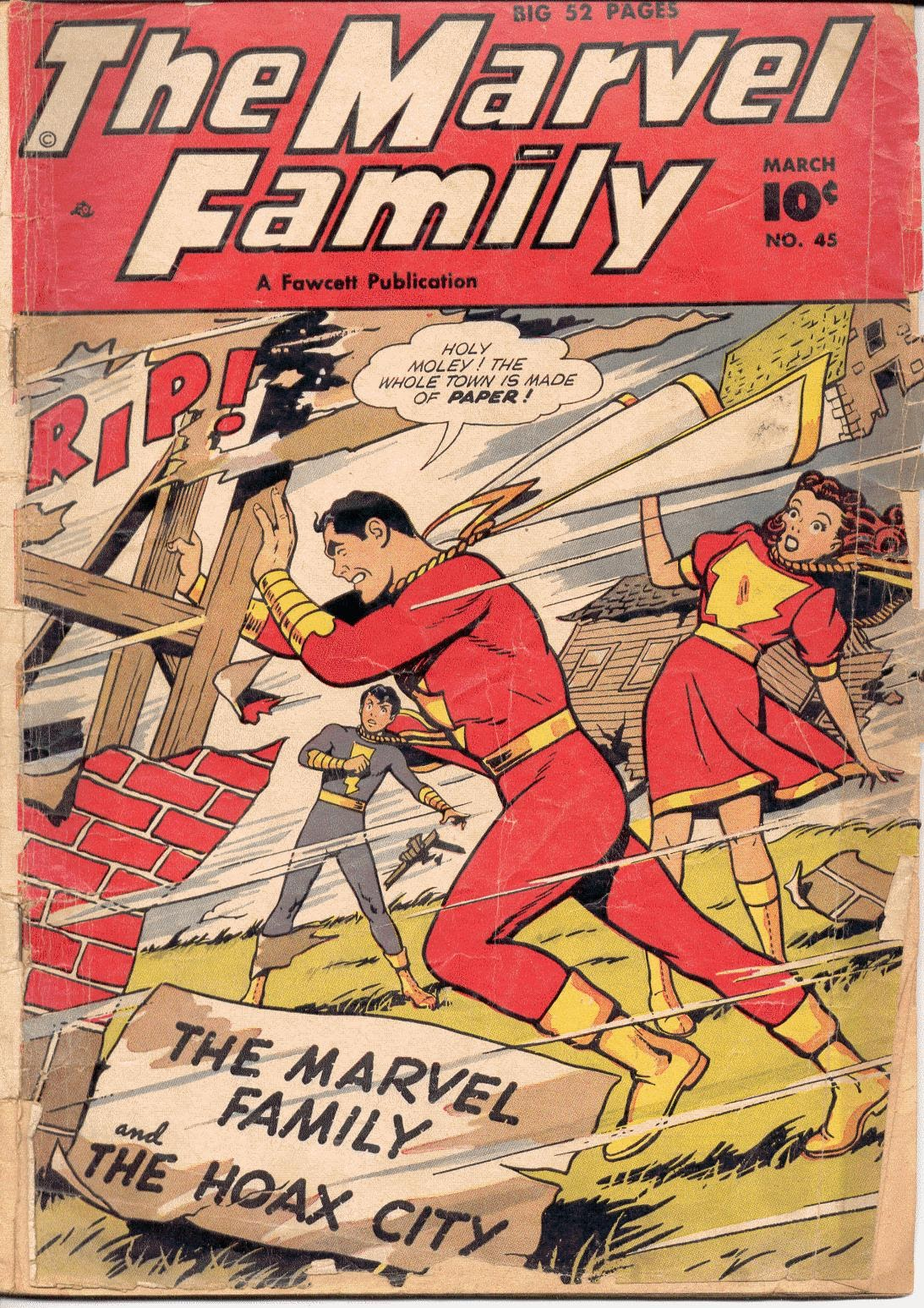 The Marvel Family 45 Page 1