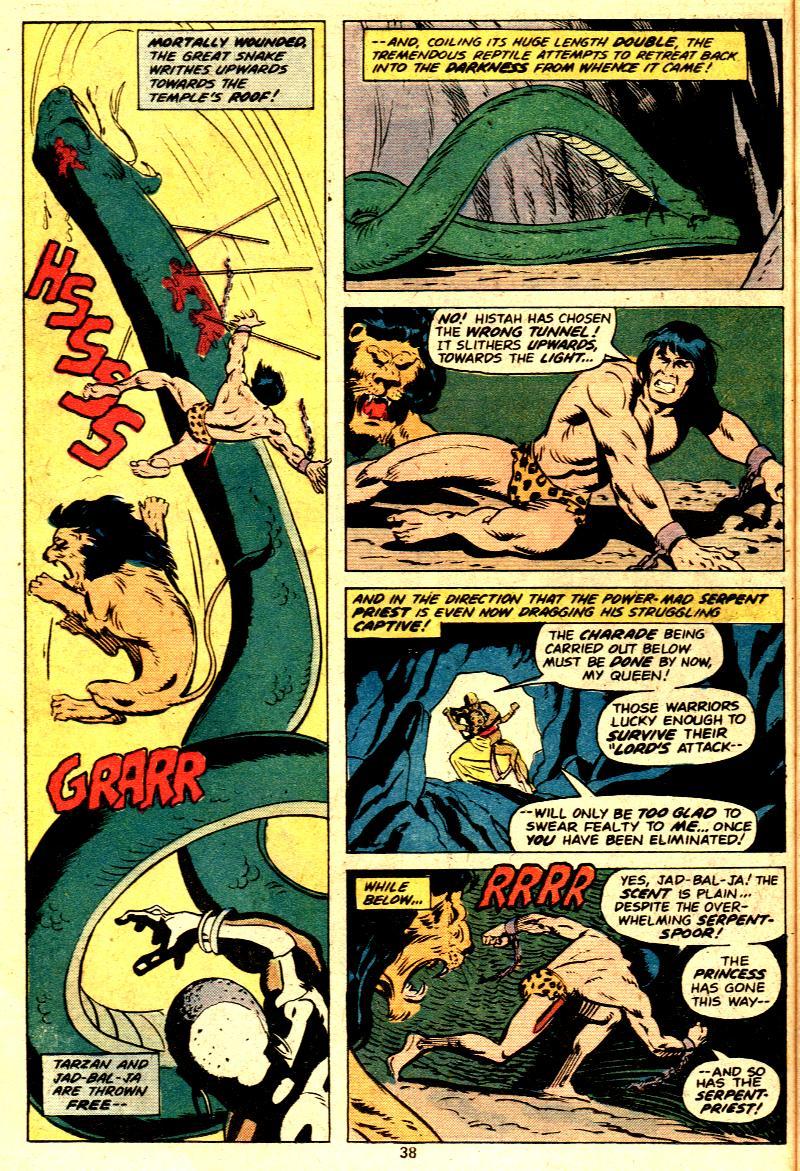 Read online Tarzan (1977) comic -  Issue # _Annual 2 - 30