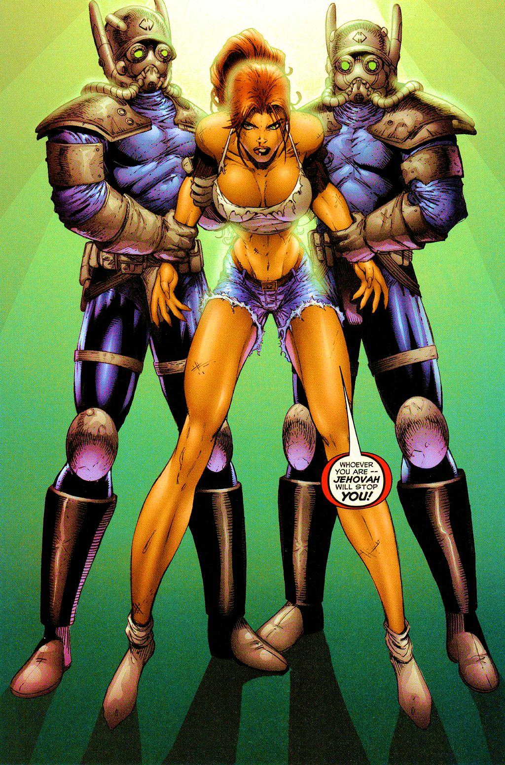 Read online Avengelyne (1999) comic -  Issue #Avengelyne (1999) Full - 10