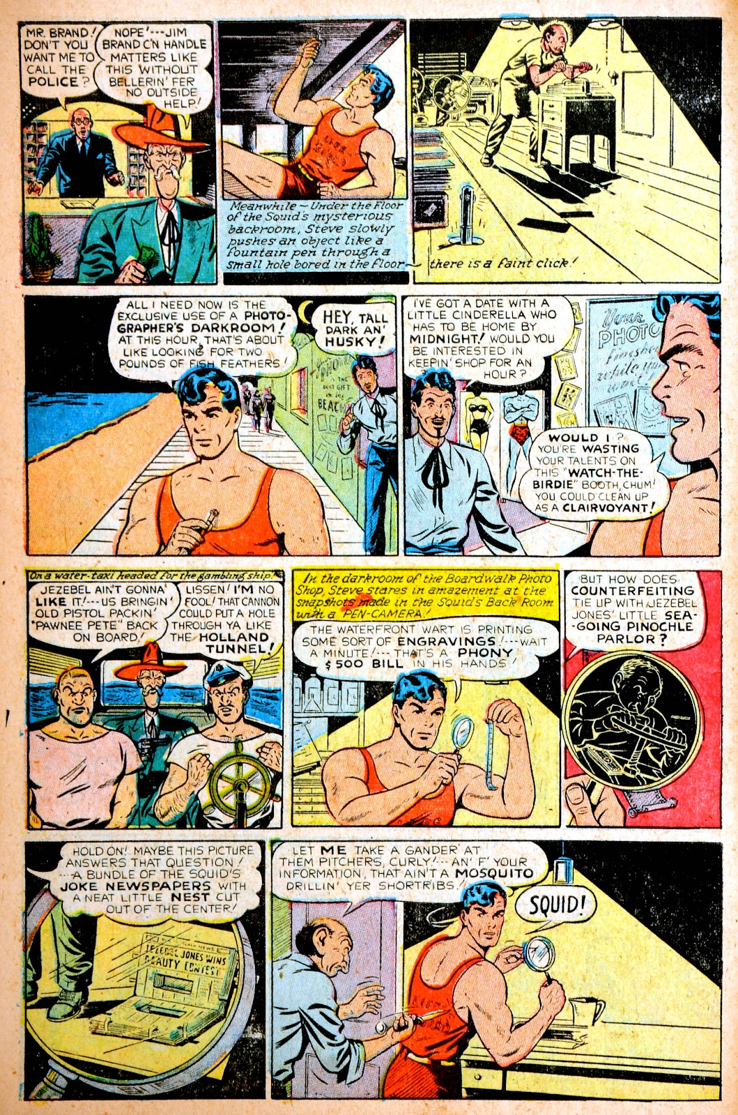 Read online Famous Funnies comic -  Issue #195 - 12