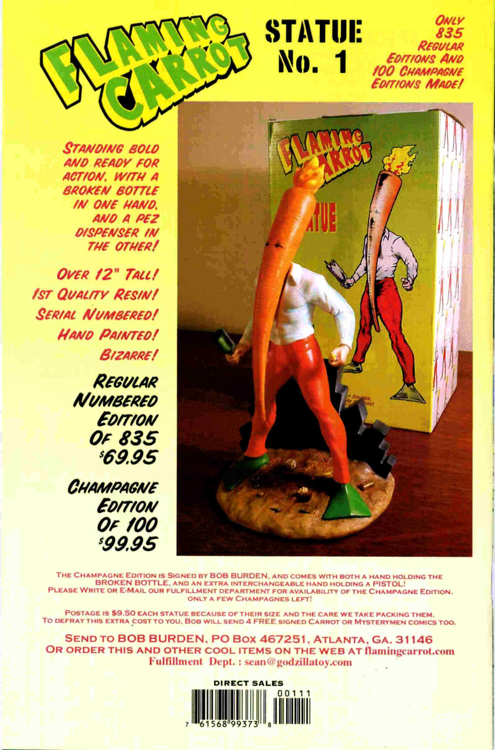 Read online Flaming Carrot & Reid Fleming, World's Toughest Milkman comic -  Issue # Full - 34