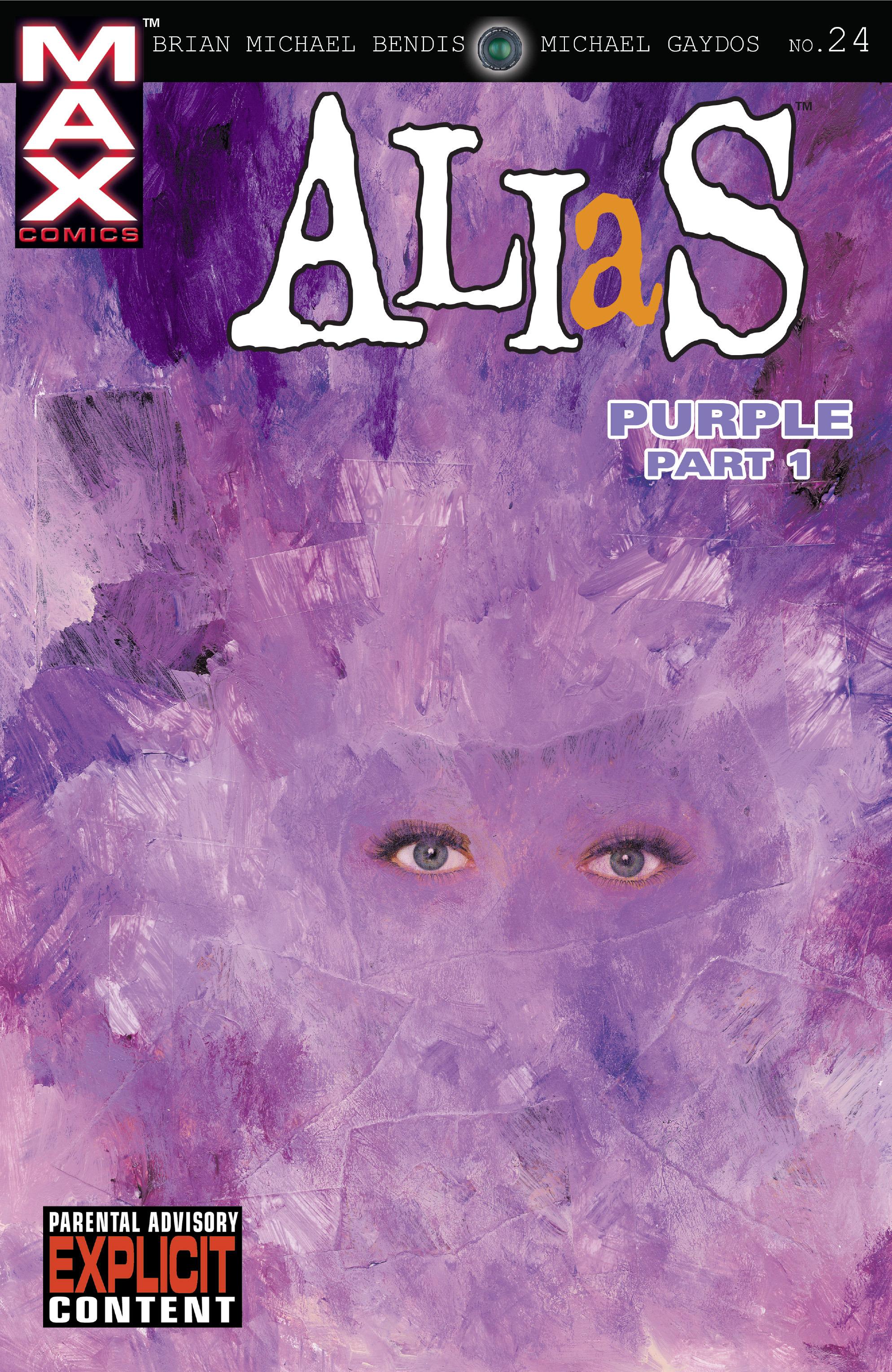 Read online Alias comic -  Issue #24 - 1