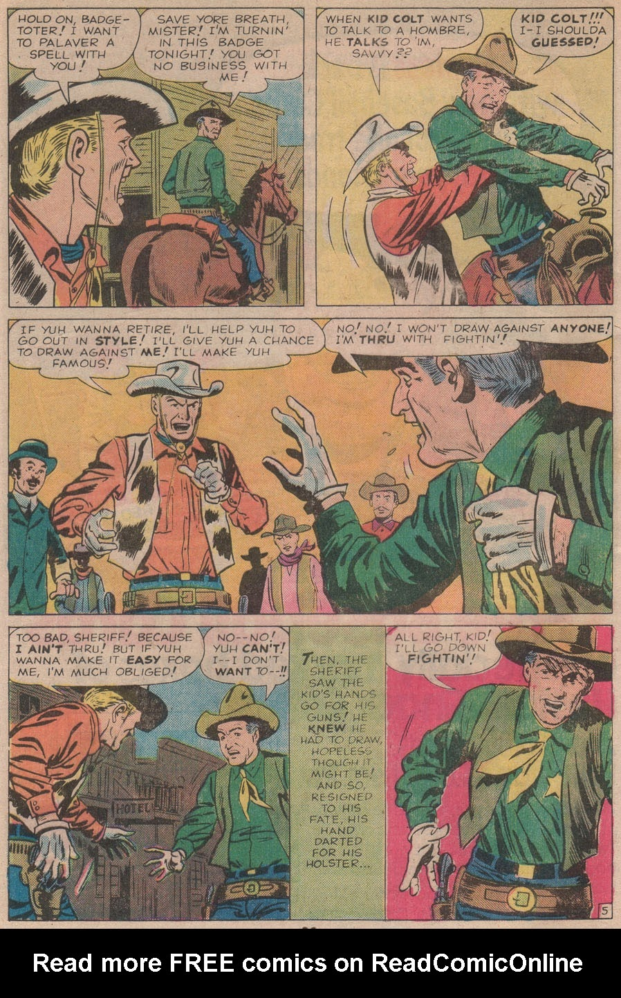 Kid Colt Outlaw issue 211 - Page 32