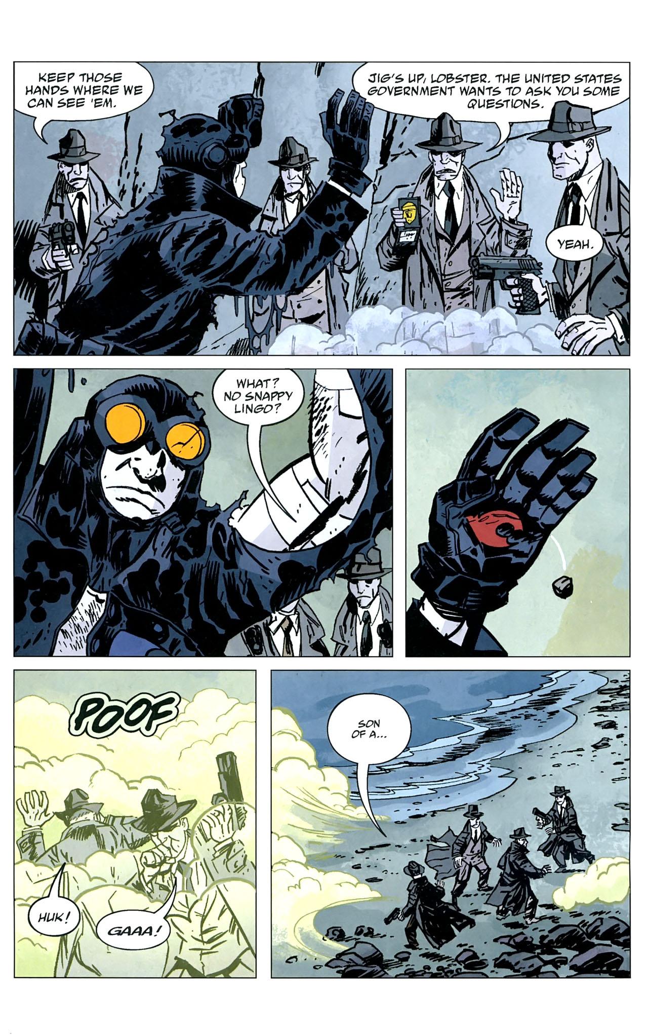 Read online Lobster Johnson: The Iron Prometheus comic -  Issue #5 - 22