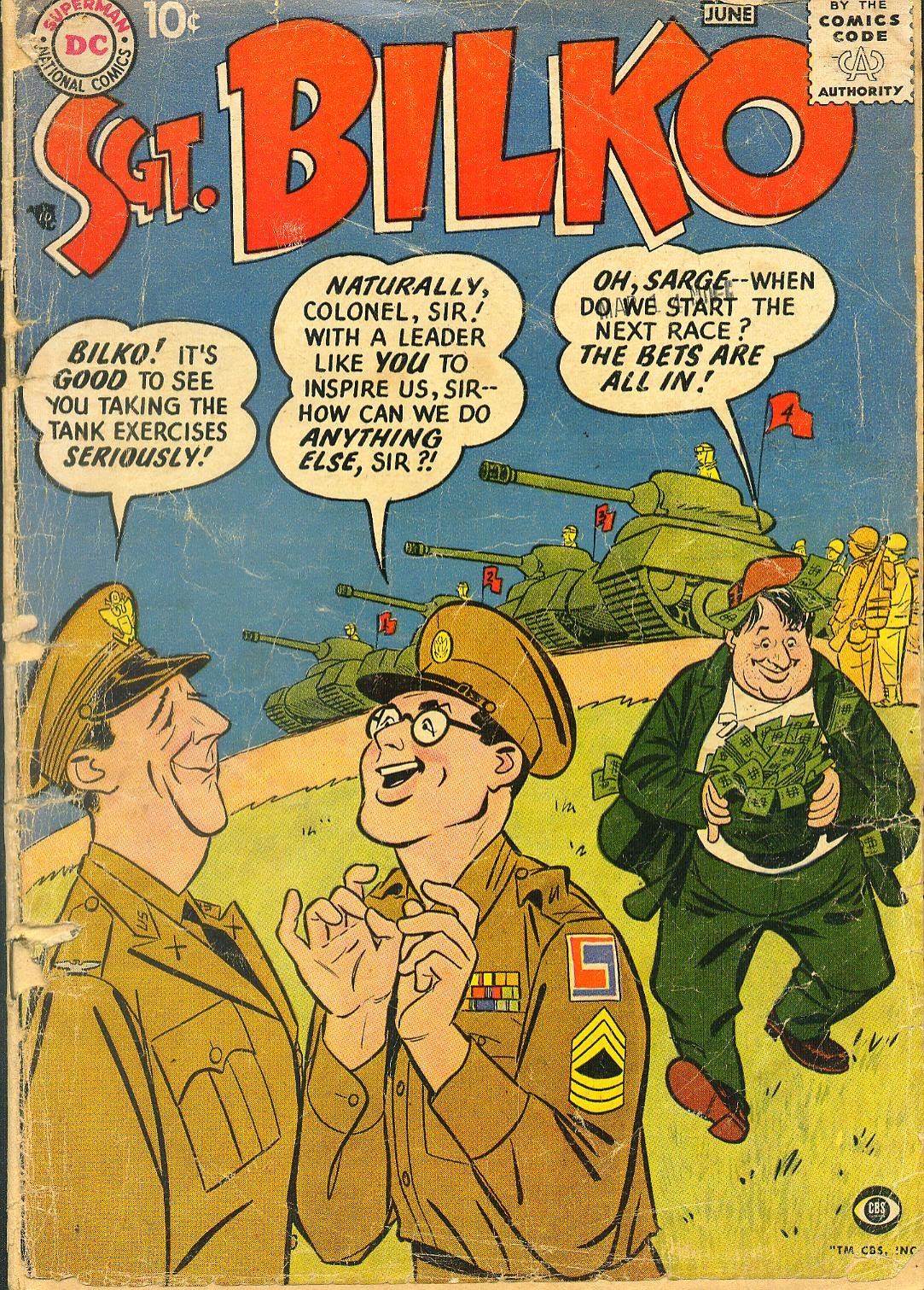 Sergeant Bilko issue 1 - Page 1