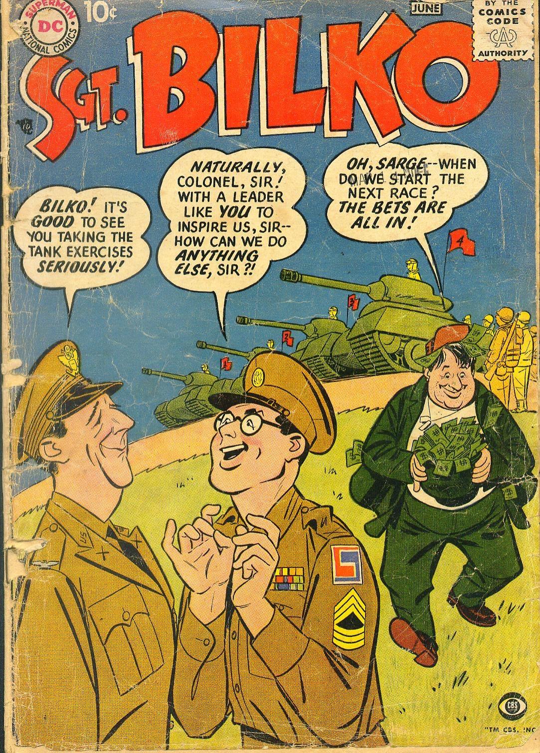 Sergeant Bilko issue 1 - Page 1