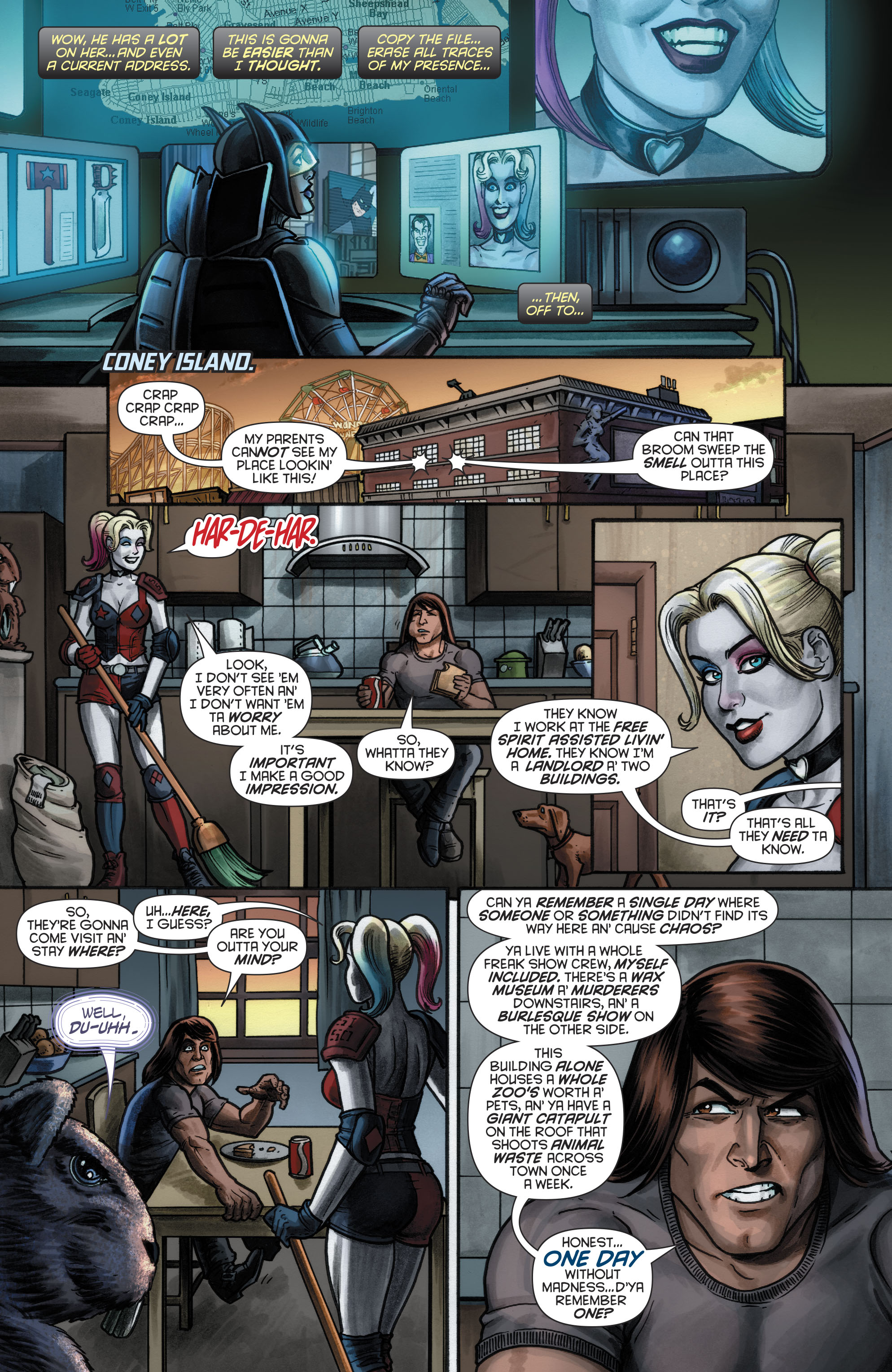 Read online Harley Quinn (2016) comic -  Issue #20 - 10