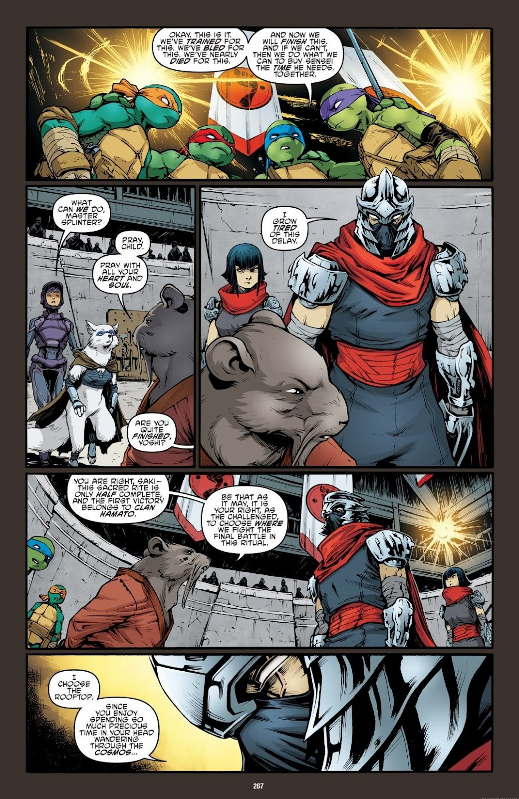 Read online Teenage Mutant Ninja Turtles: The IDW Collection comic -  Issue # TPB 6 (Part 3) - 60