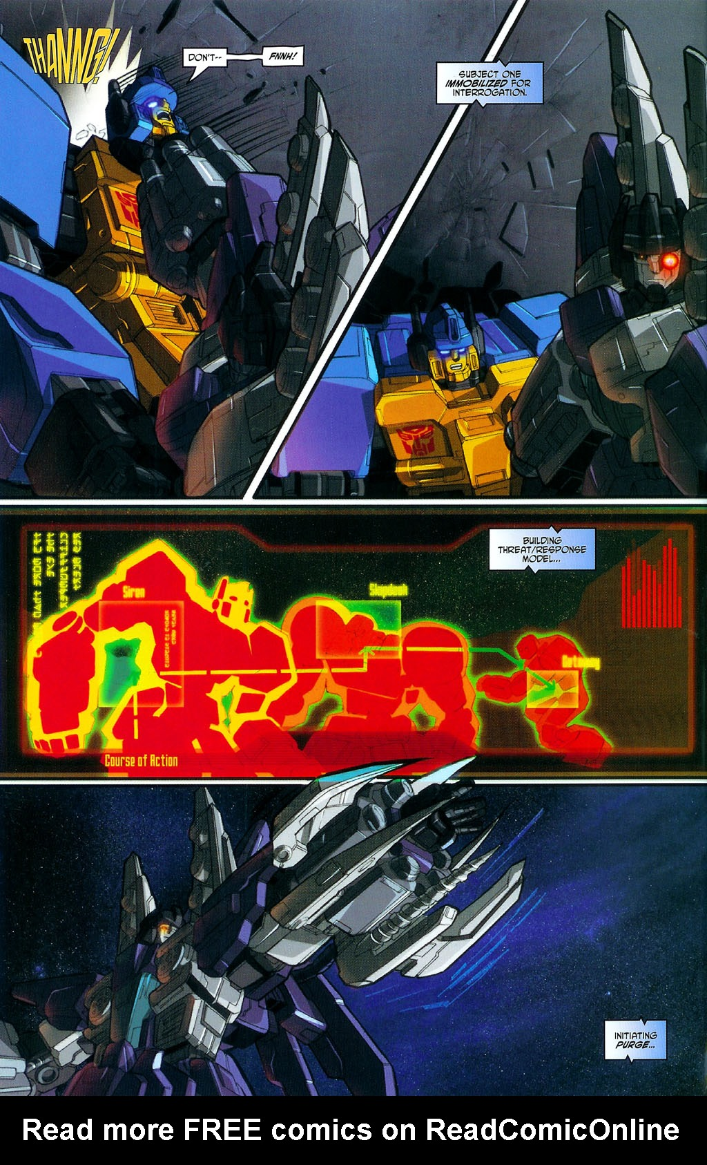"""Read online Transformers War Within: """"The Age of Wrath"""" comic -  Issue #3 - 9"""