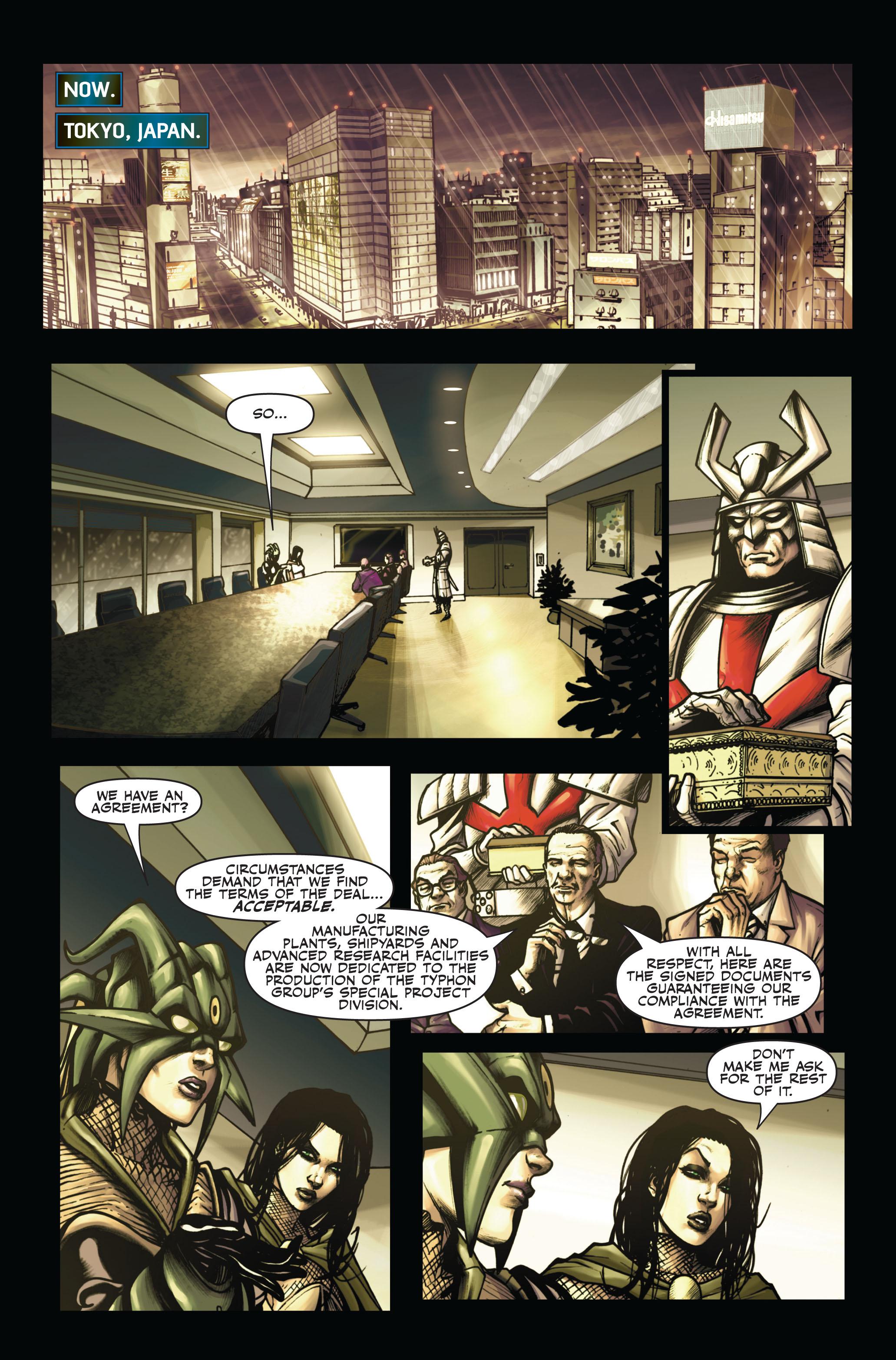 Read online Secret Warriors comic -  Issue #6 - 13