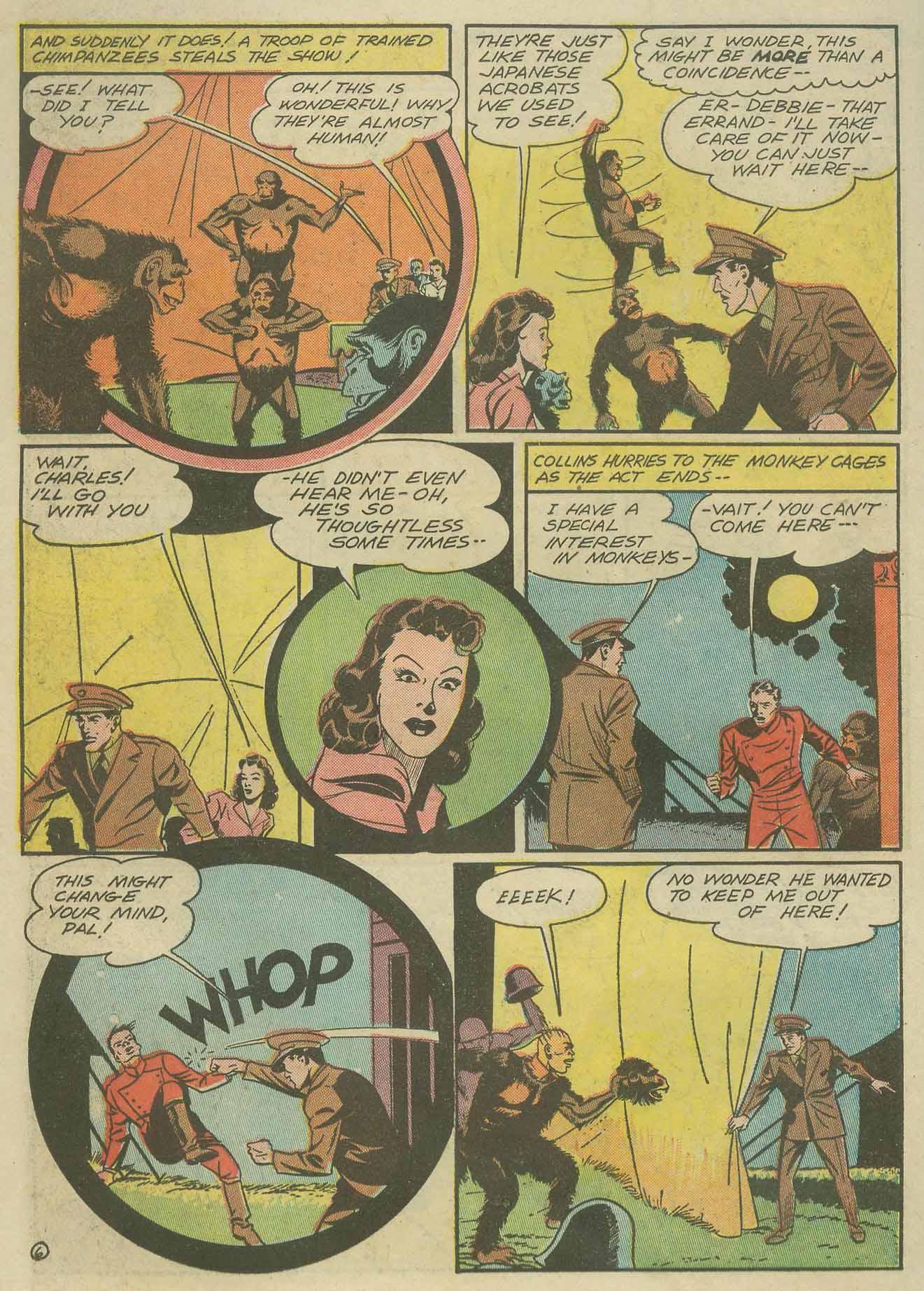 Read online Sensation (Mystery) Comics comic -  Issue #9 - 42
