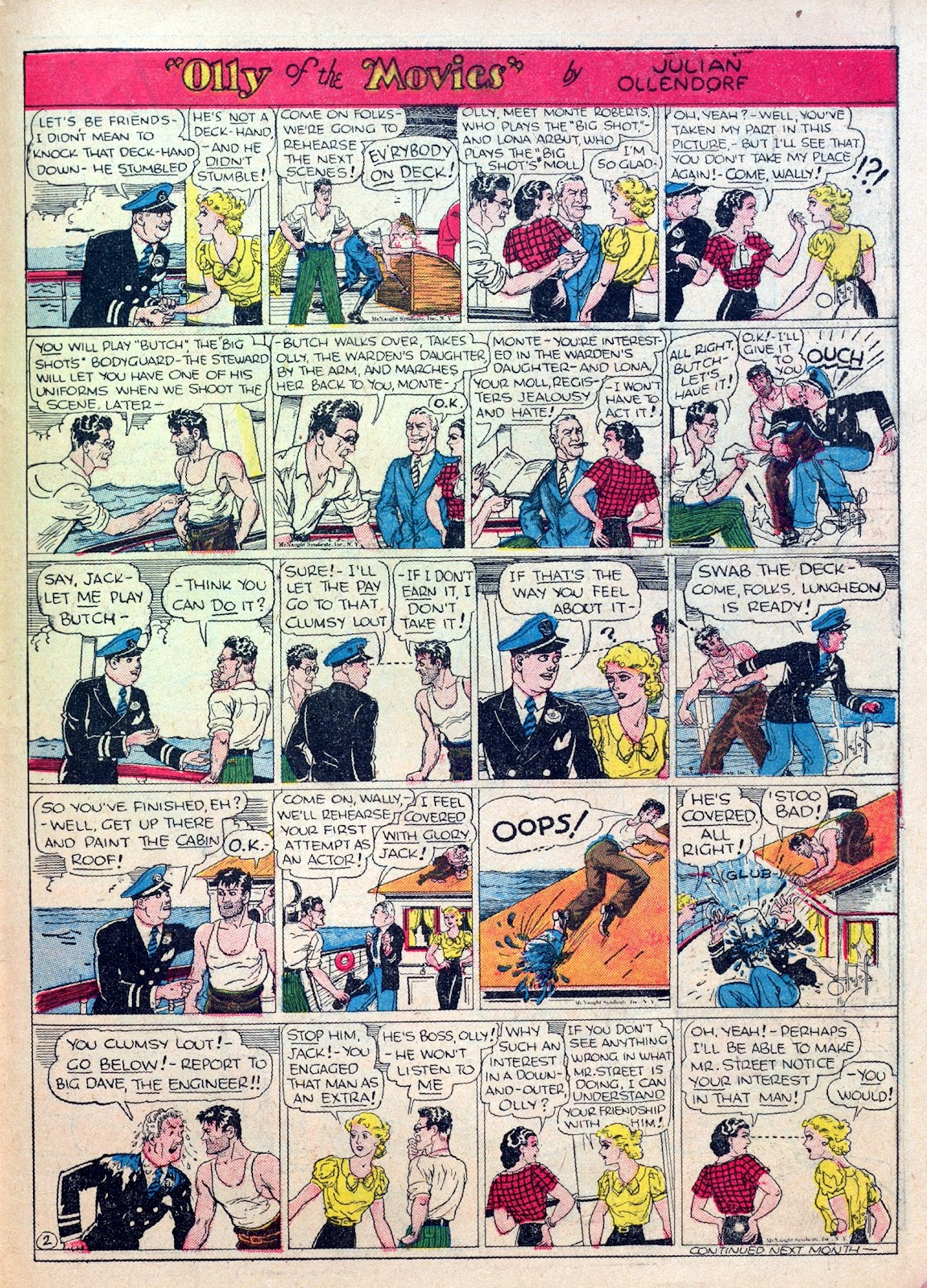 Read online Famous Funnies comic -  Issue #25 - 51
