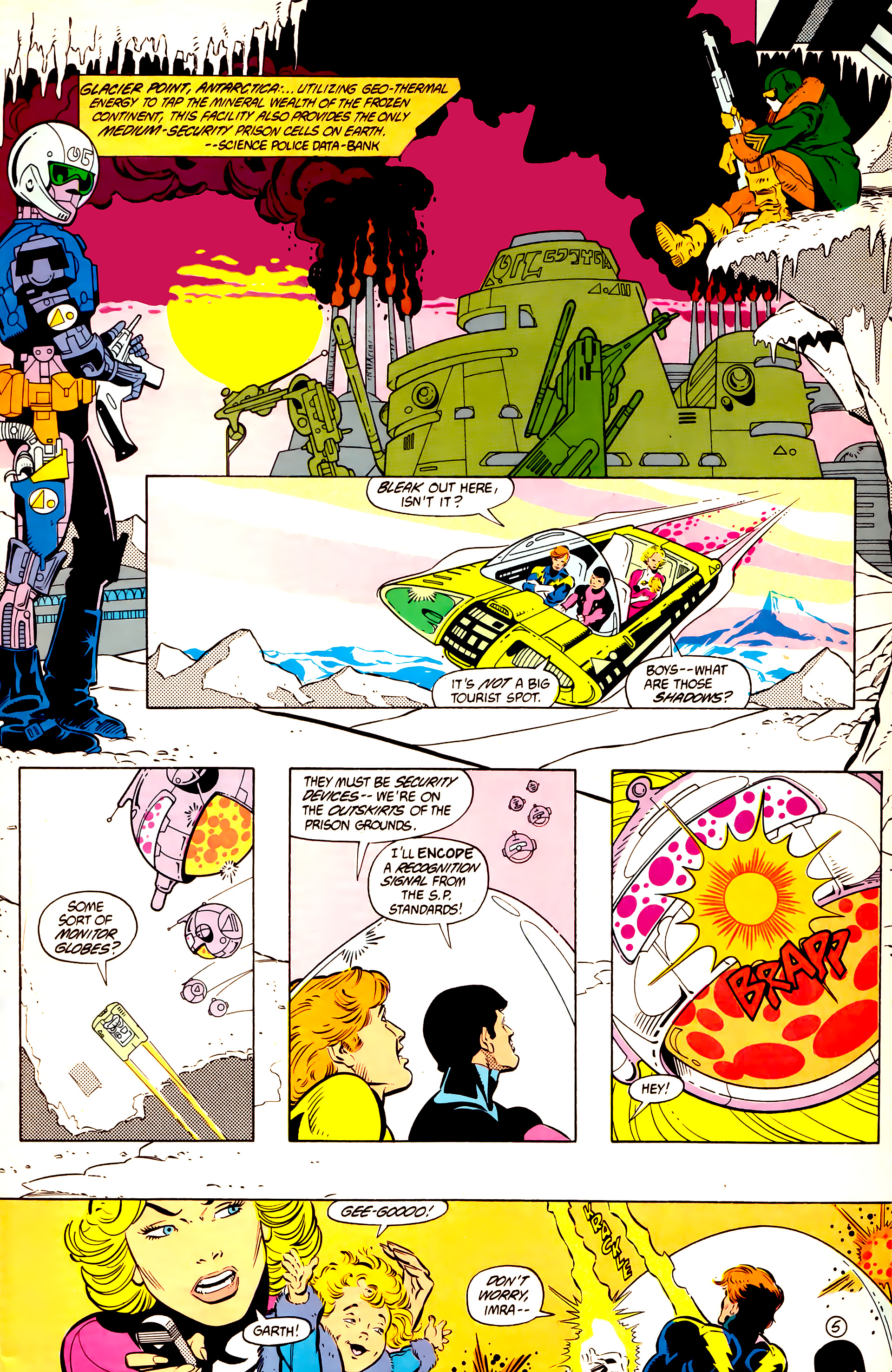 Legion of Super-Heroes (1984) 11 Page 6