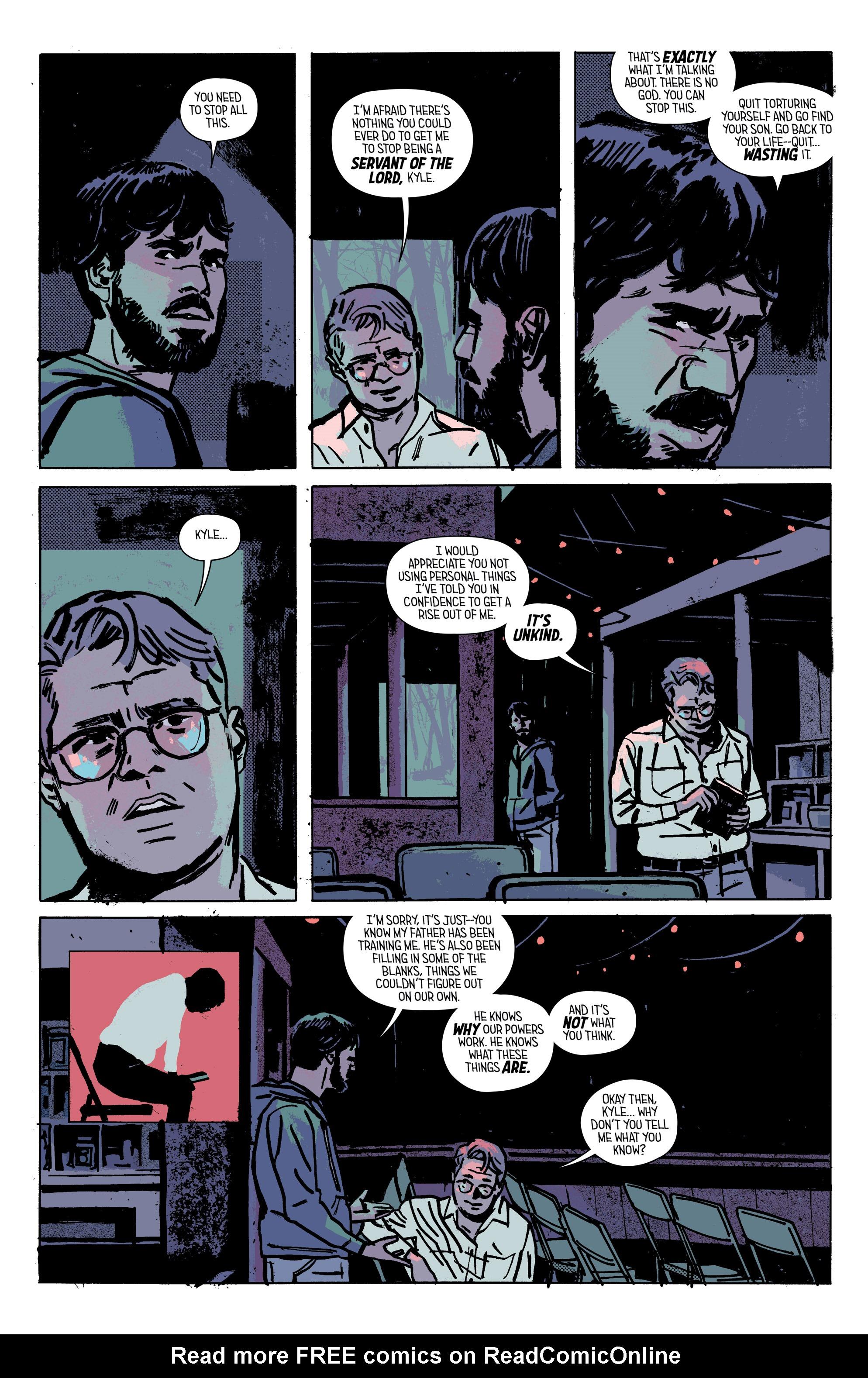 Read online Outcast by Kirkman & Azaceta comic -  Issue #28 - 17