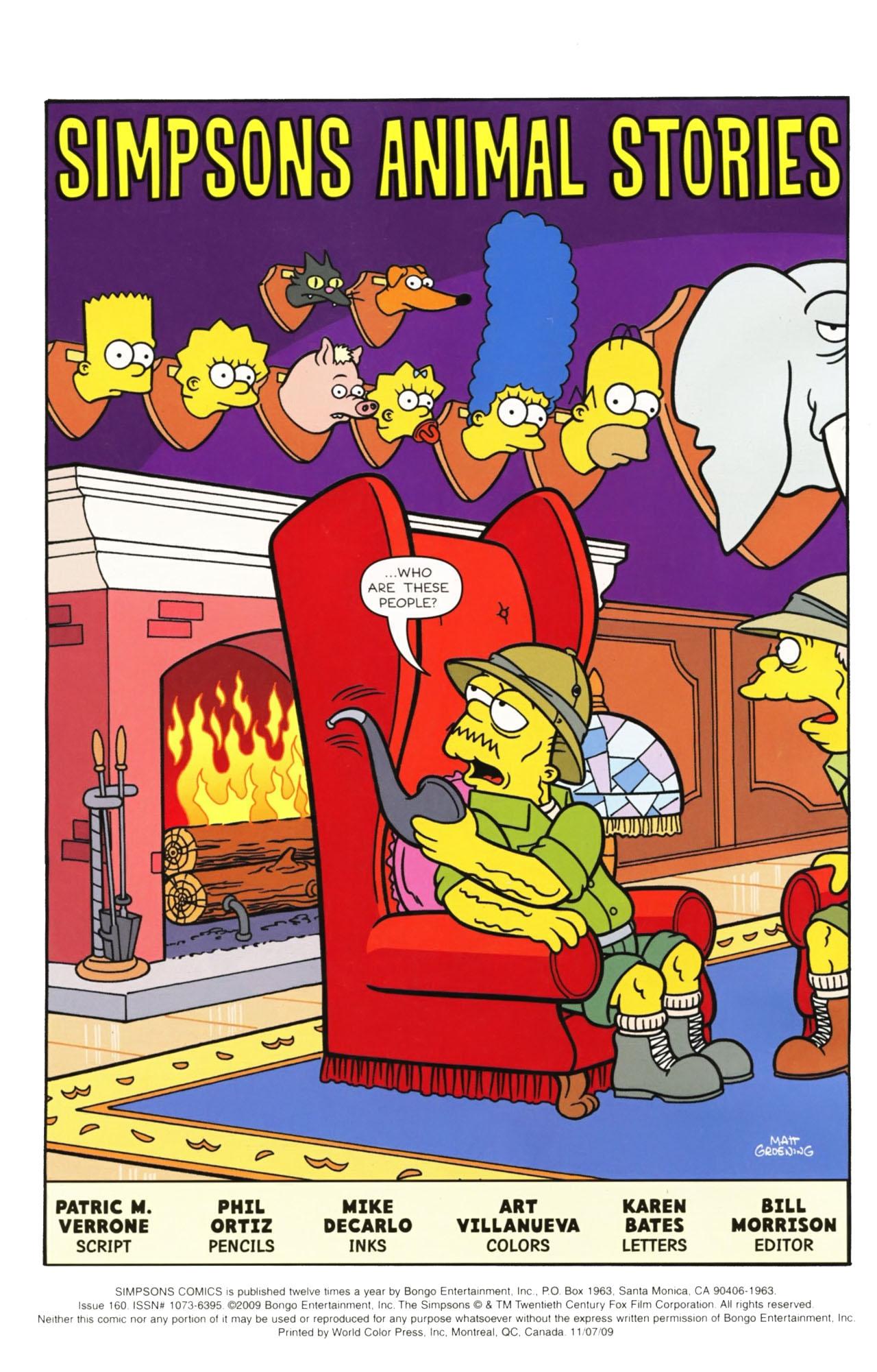 Read online Simpsons Comics comic -  Issue #160 - 3