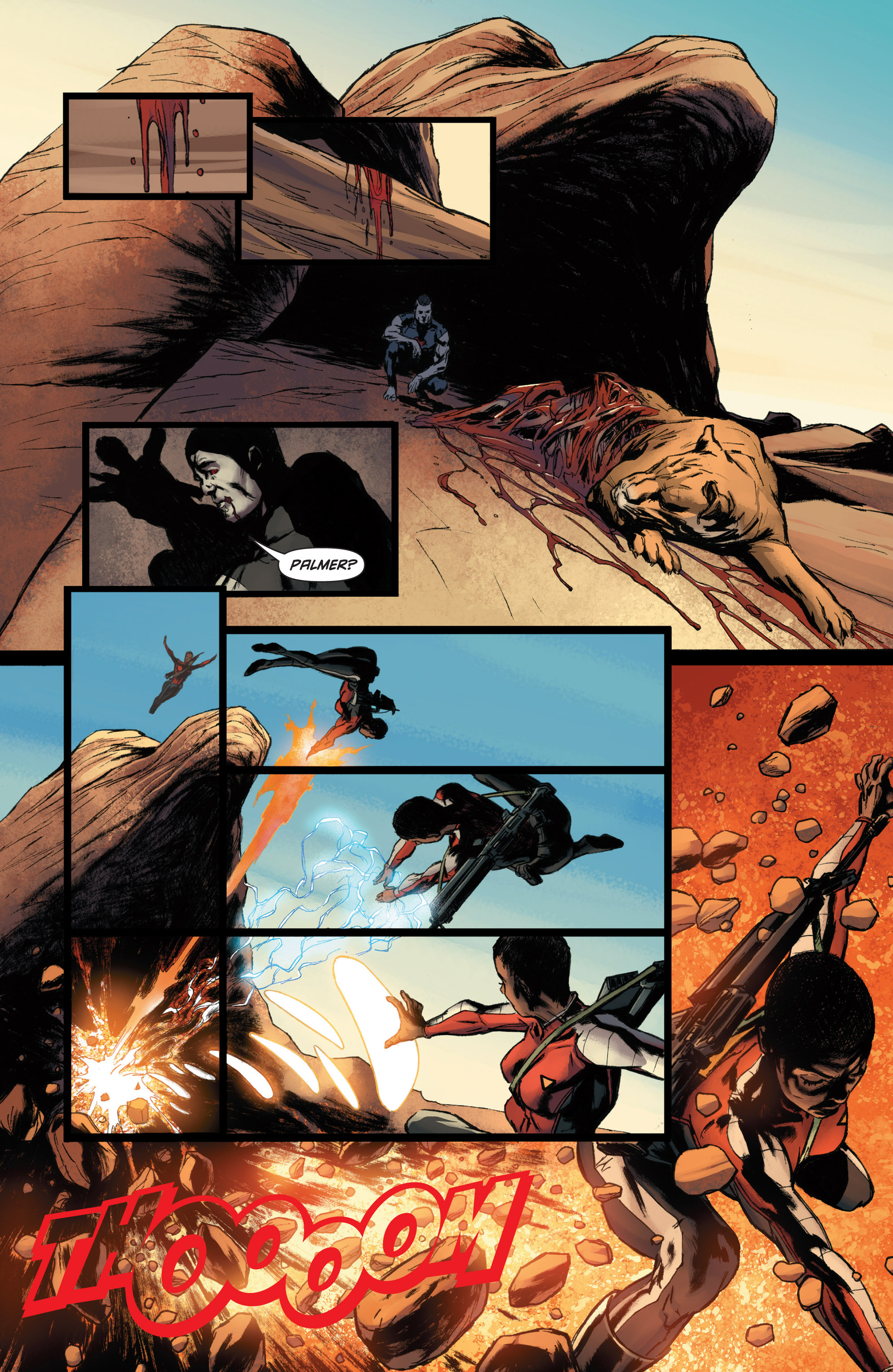 Read online Bloodshot and H.A.R.D.Corps comic -  Issue #22 - 16