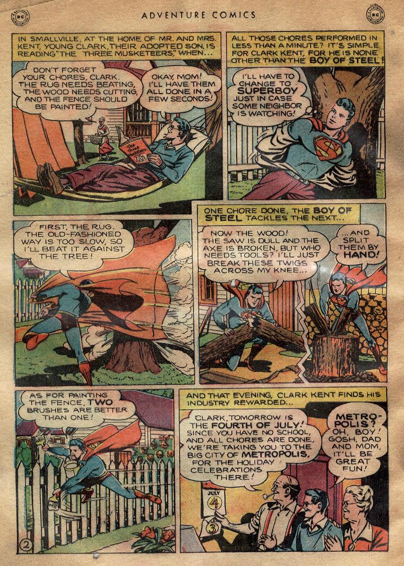 Read online Adventure Comics (1938) comic -  Issue #145 - 4