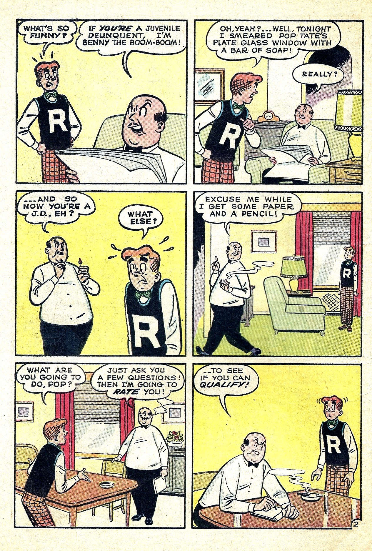 Read online Archie (1960) comic -  Issue #130 - 4