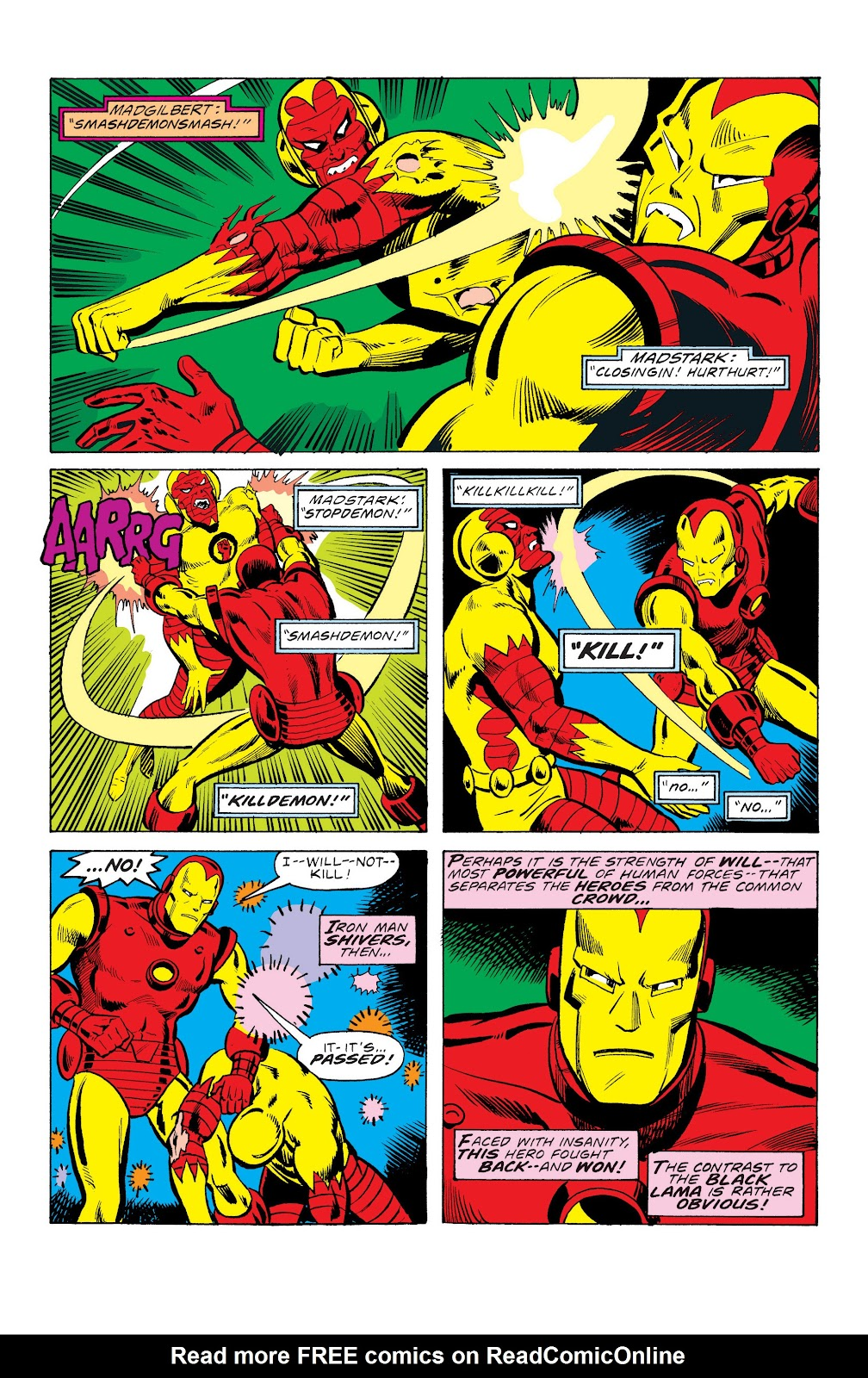 Read online Marvel Masterworks: The Invincible Iron Man comic -  Issue # TPB 10 (Part 3) - 48