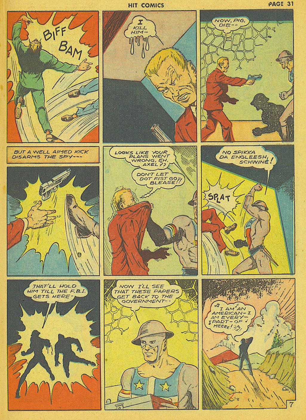 Read online Hit Comics comic -  Issue #21 - 33