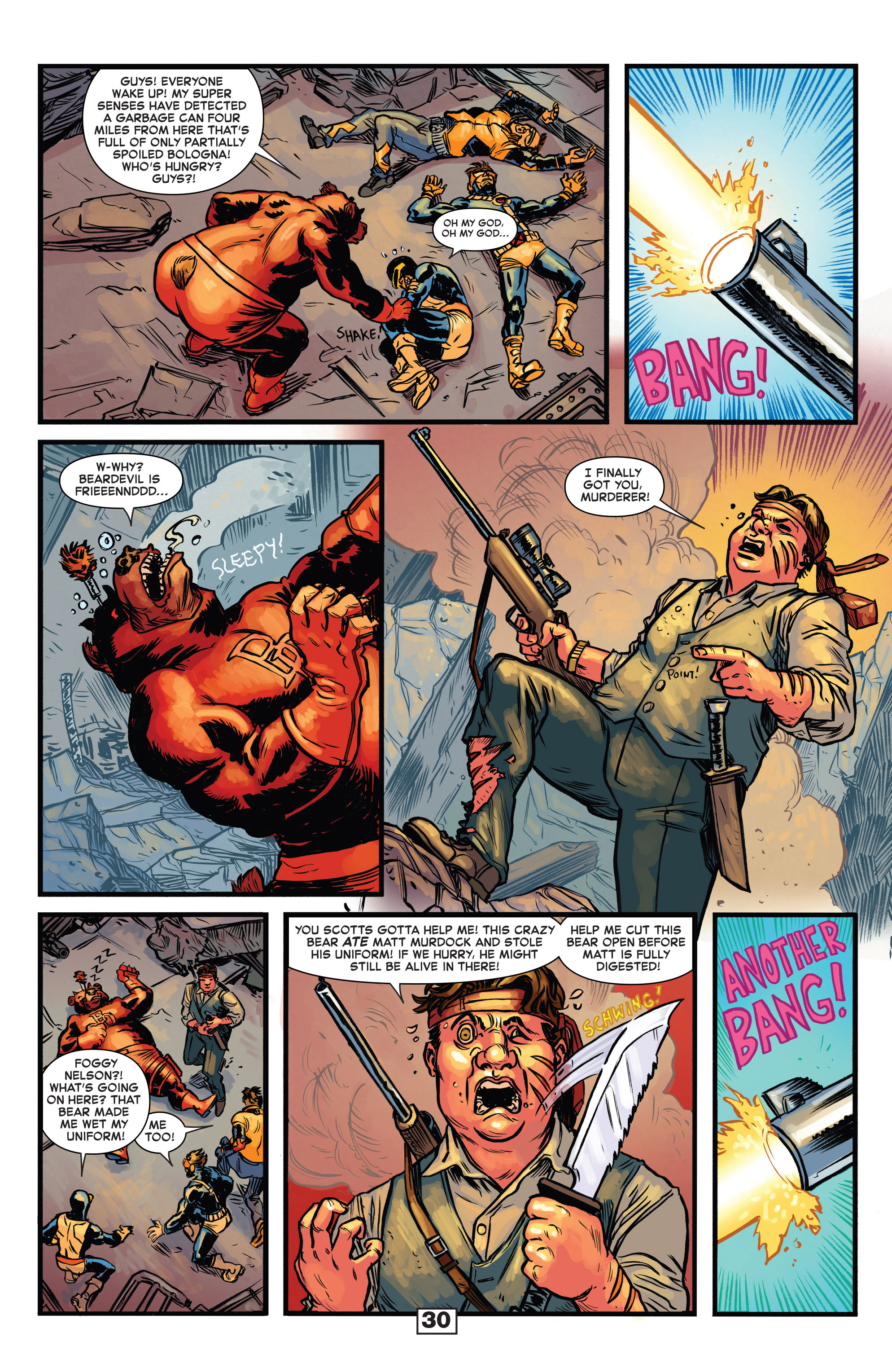 Read online Secret Wars Too comic -  Issue # Full - 32