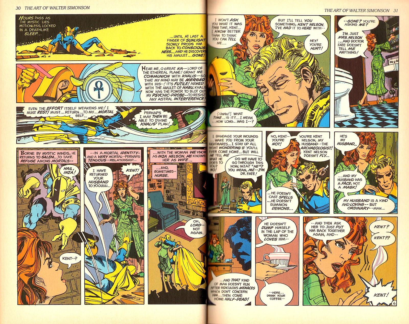 Read online The Art of Walter Simonson comic -  Issue # TPB - 17