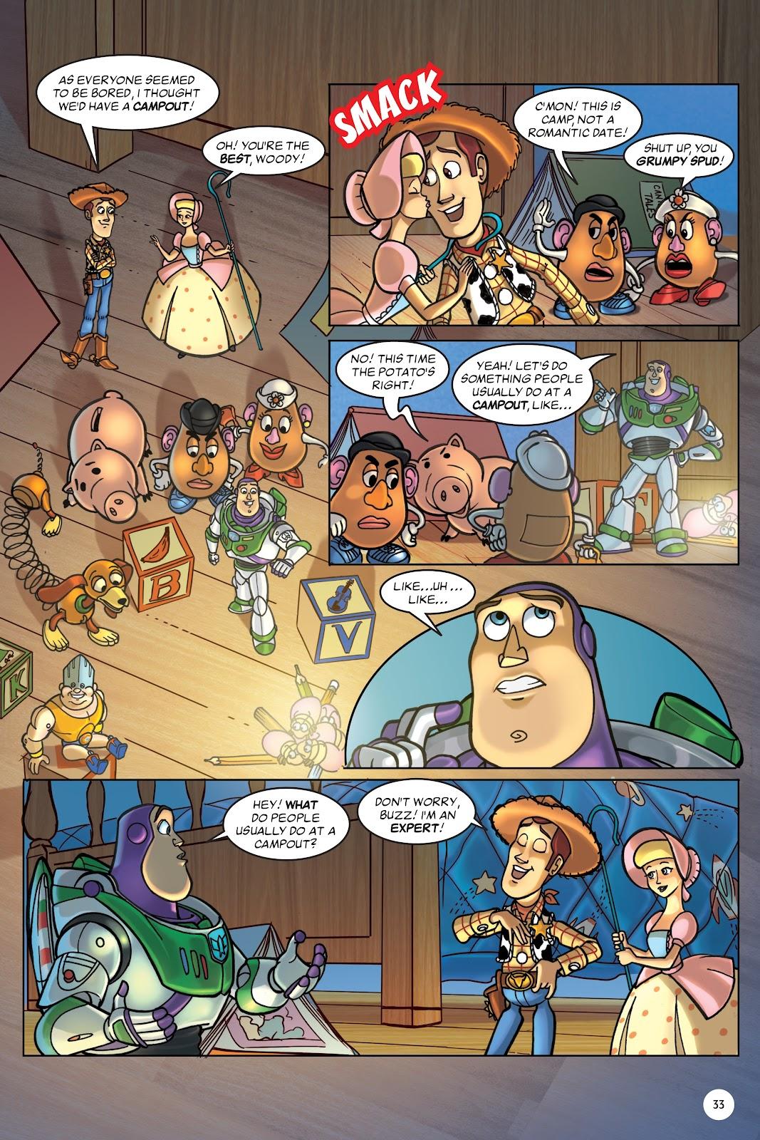 Read online DISNEY·PIXAR Toy Story Adventures comic -  Issue # TPB 1 (Part 1) - 33