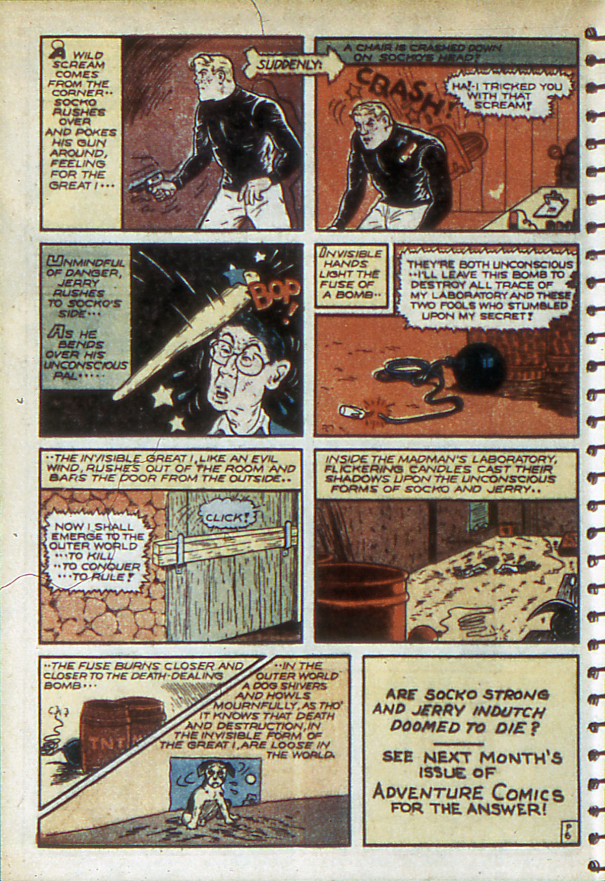 Read online Adventure Comics (1938) comic -  Issue #52 - 52