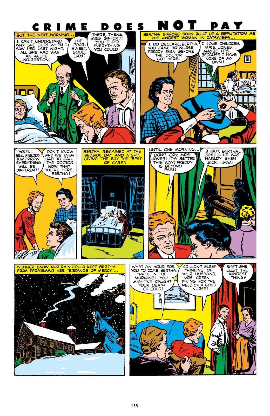 Read online Crime Does Not Pay Archives comic -  Issue # TPB 8 (Part 2) - 56