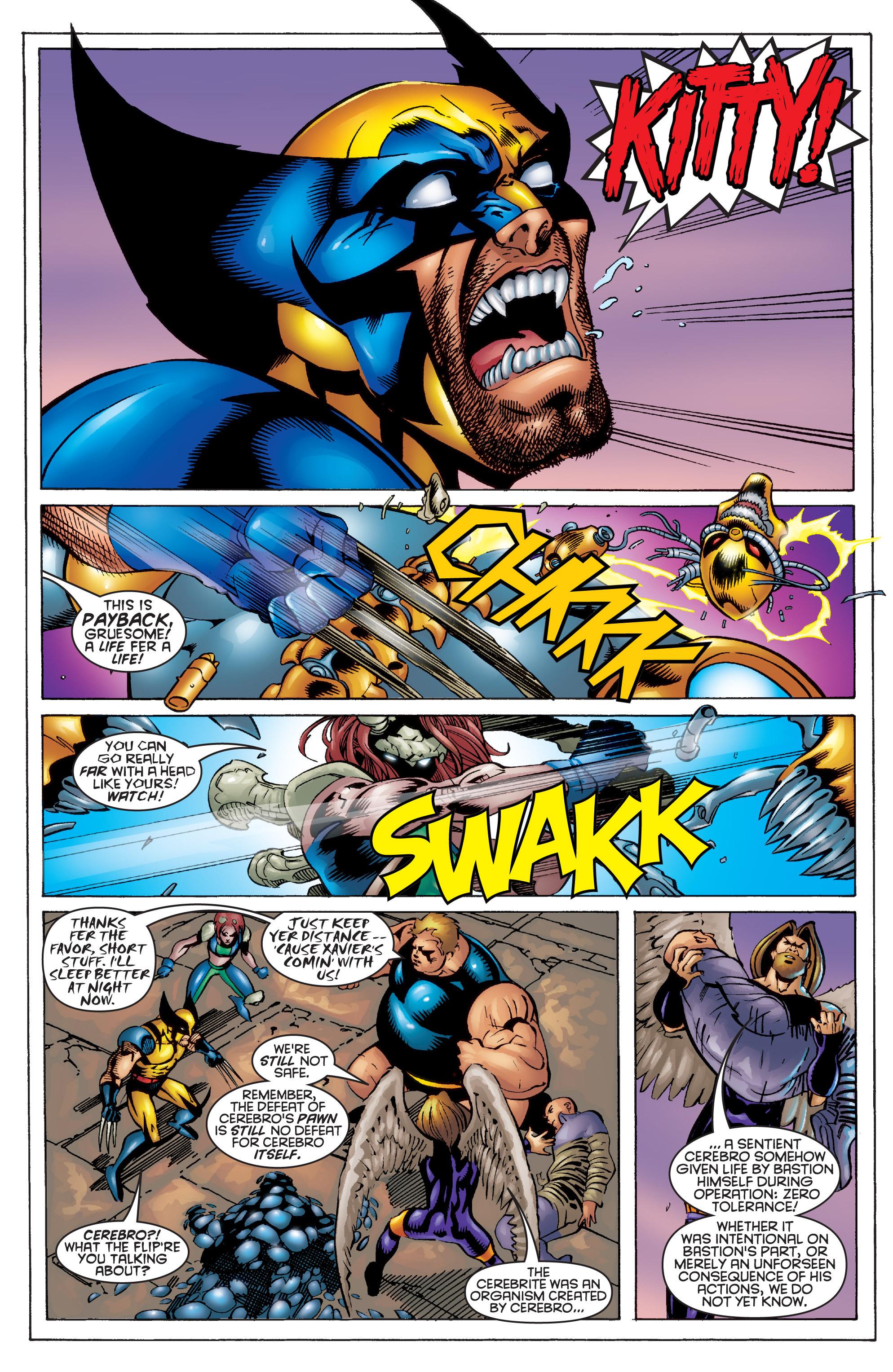 Read online Uncanny X-Men (1963) comic -  Issue #364 - 21