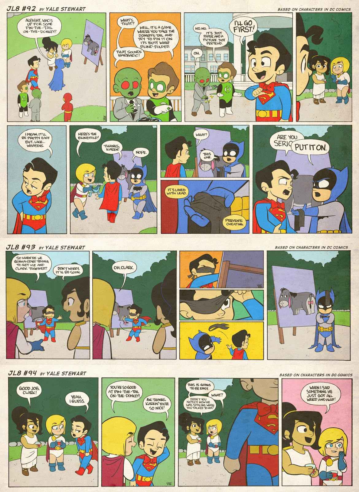 Read online JL8 – The Complete Collection comic -  Issue # TPB (Part 1) - 45