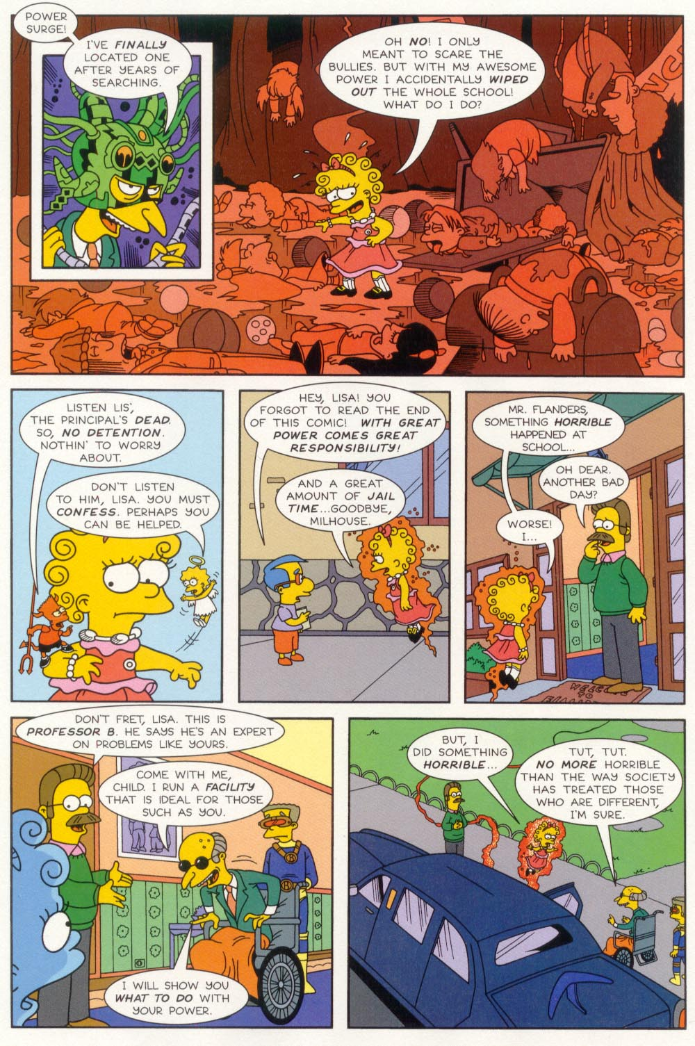 Read online Treehouse of Horror comic -  Issue #5 - 14