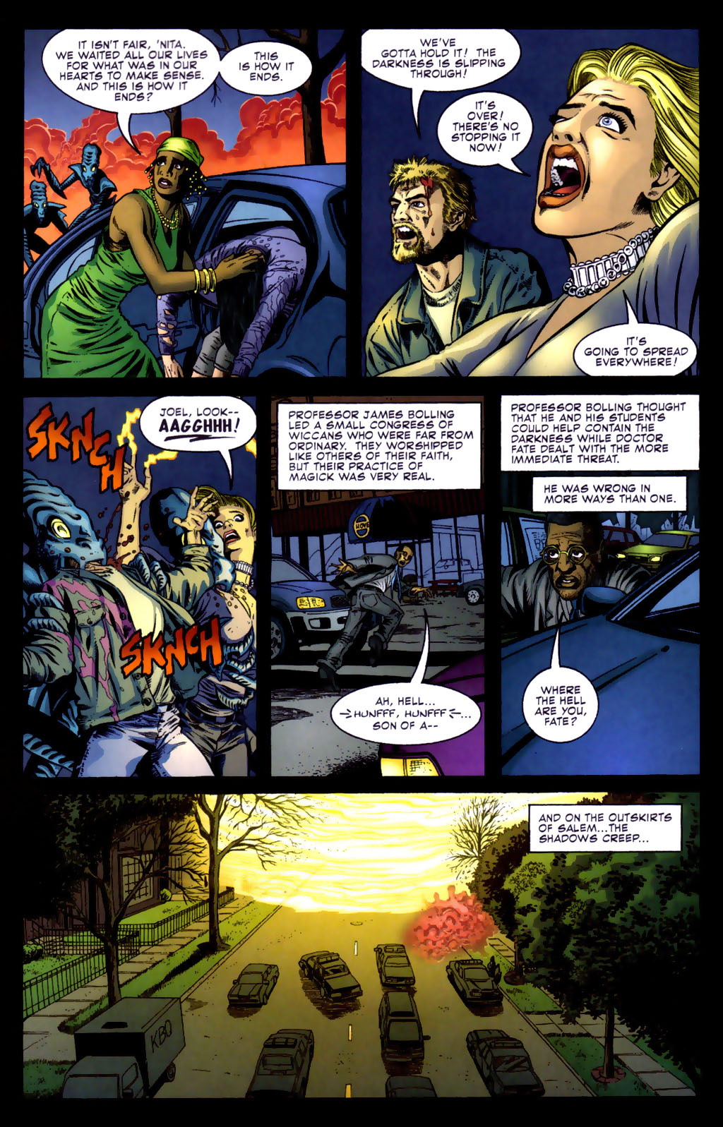 Read online Doctor Fate (2003) comic -  Issue #5 - 5