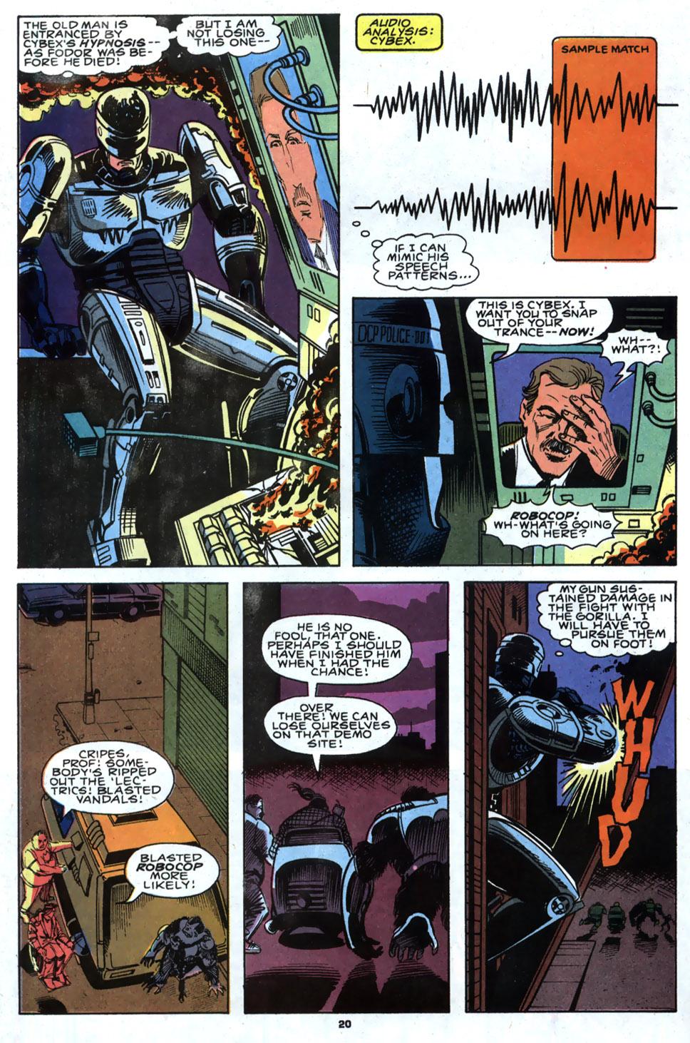 Read online Robocop (1990) comic -  Issue #4 - 16