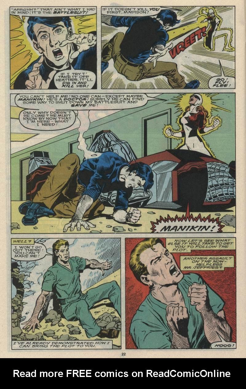 Read online Alpha Flight (1983) comic -  Issue #66 - 23