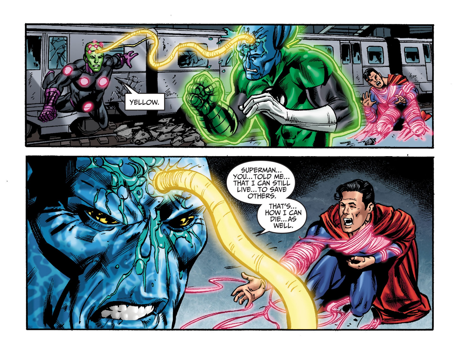 Read online Adventures of Superman [I] comic -  Issue #33 - 14
