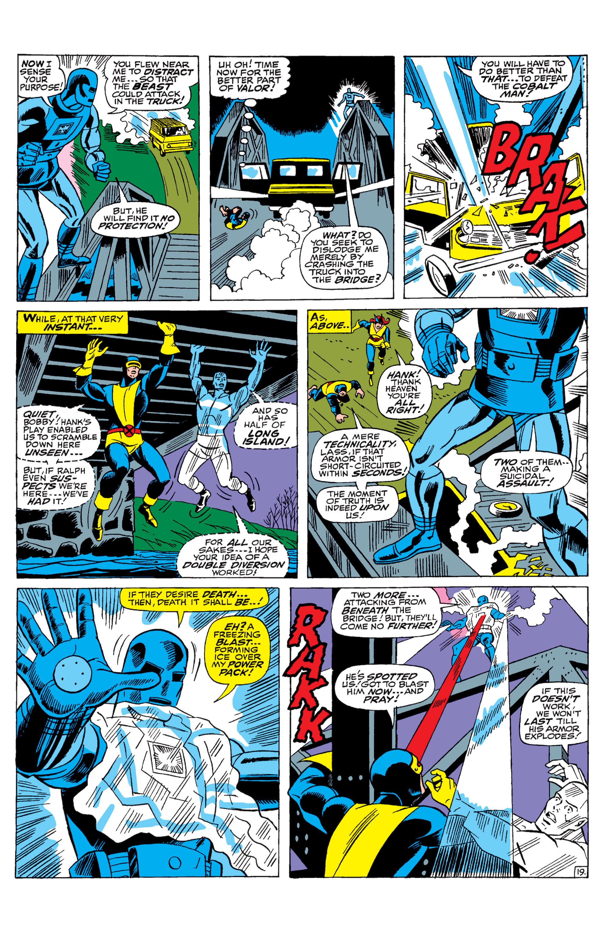 Read online Uncanny X-Men (1963) comic -  Issue #31 - 20