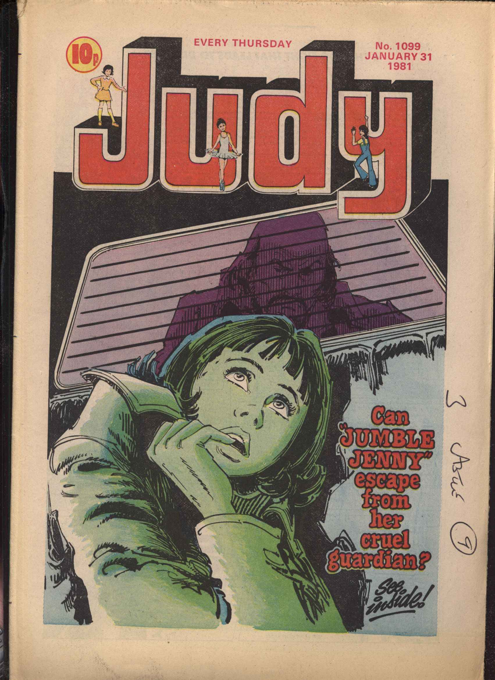 Read online Judy comic -  Issue #99 - 1