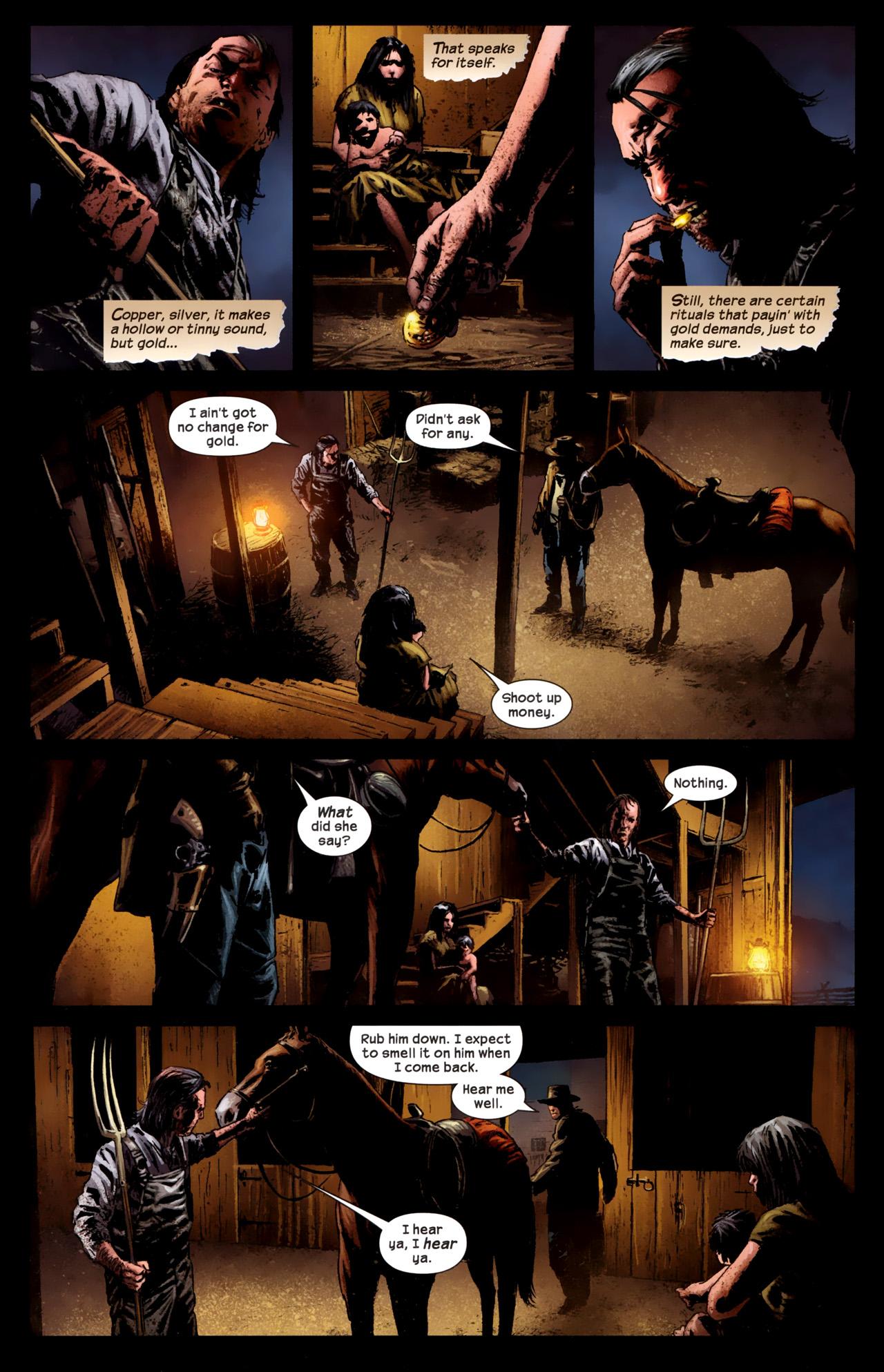 Read online Dark Tower: The Gunslinger - The Battle of Tull comic -  Issue #1 - 15