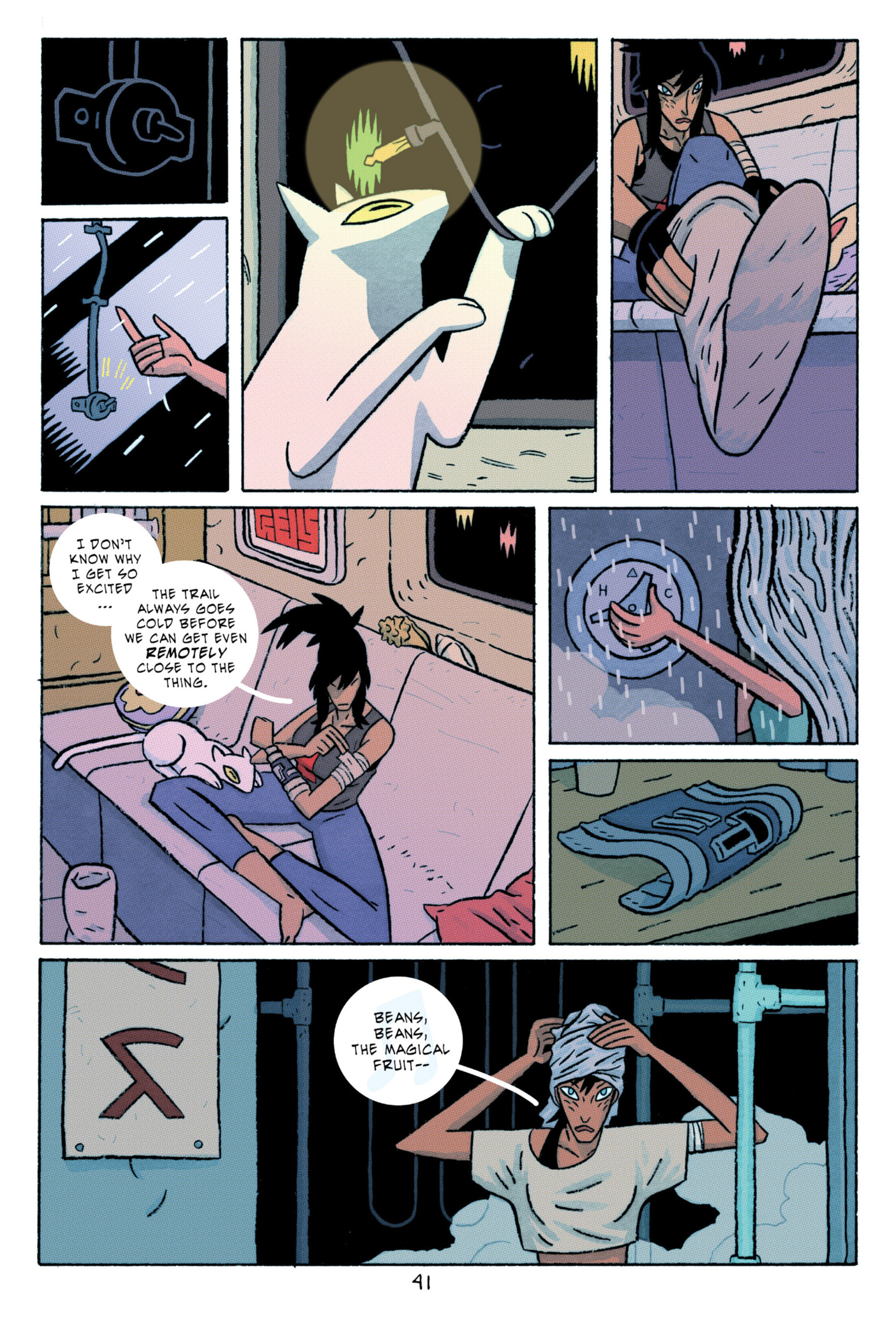 Read online ApocalyptiGirl: An Aria for the End Times comic -  Issue #ApocalyptiGirl: An Aria for the End Times Full - 49