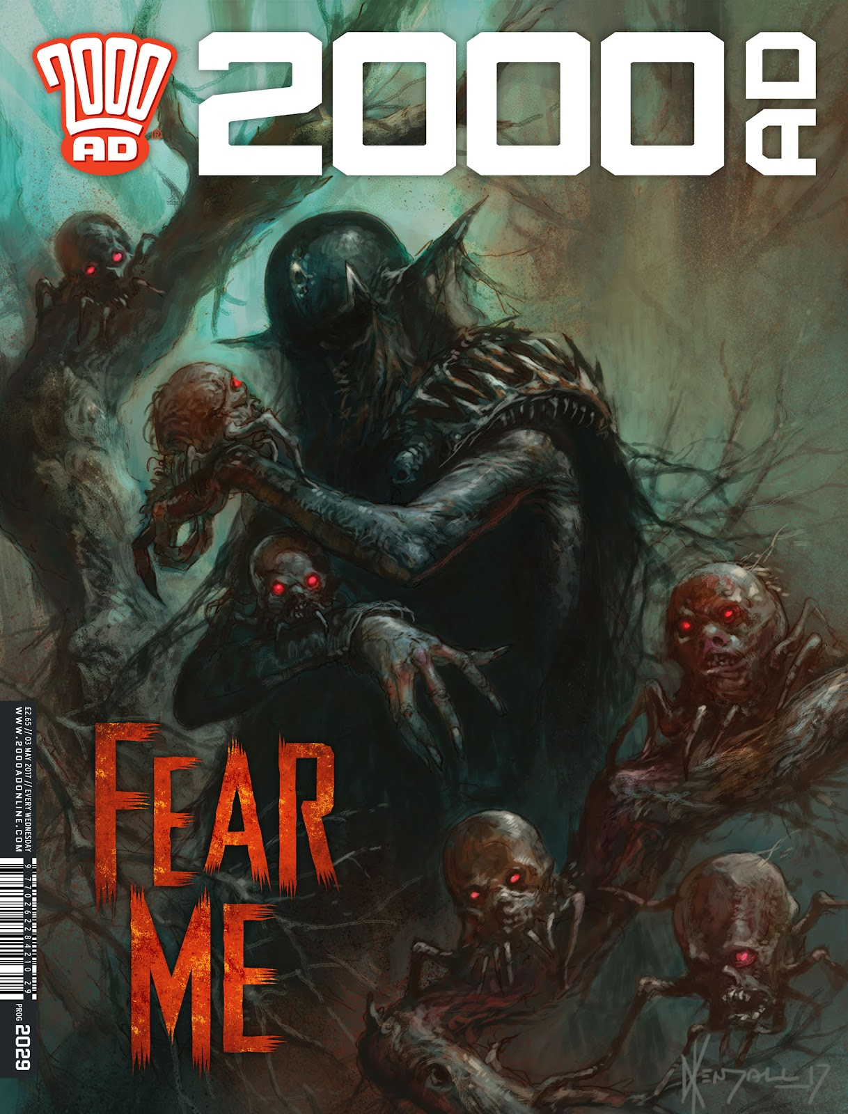 Read online 2000 AD comic -  Issue #2029 - 1