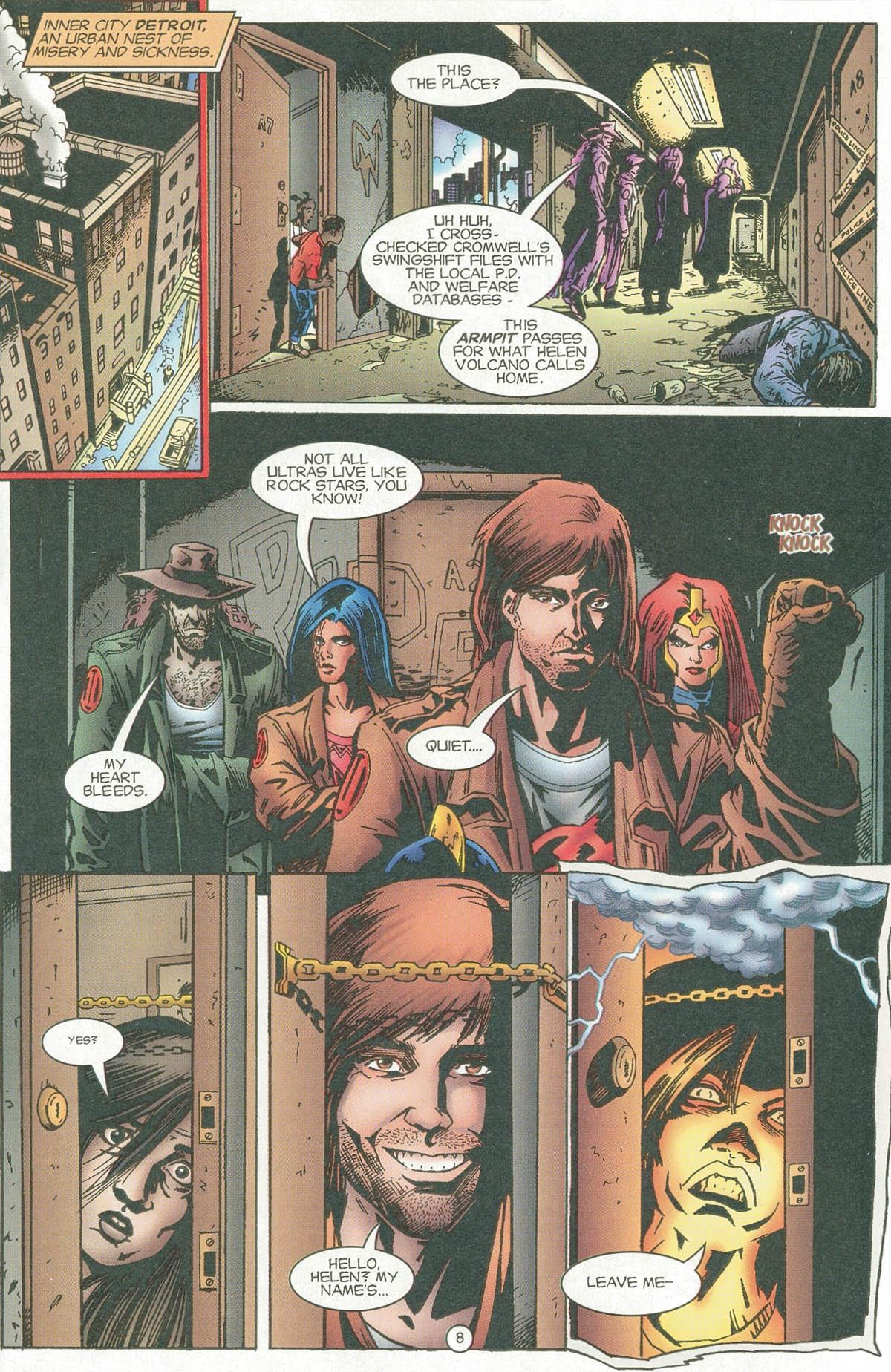 Read online UltraForce (1995) comic -  Issue #6 - 10