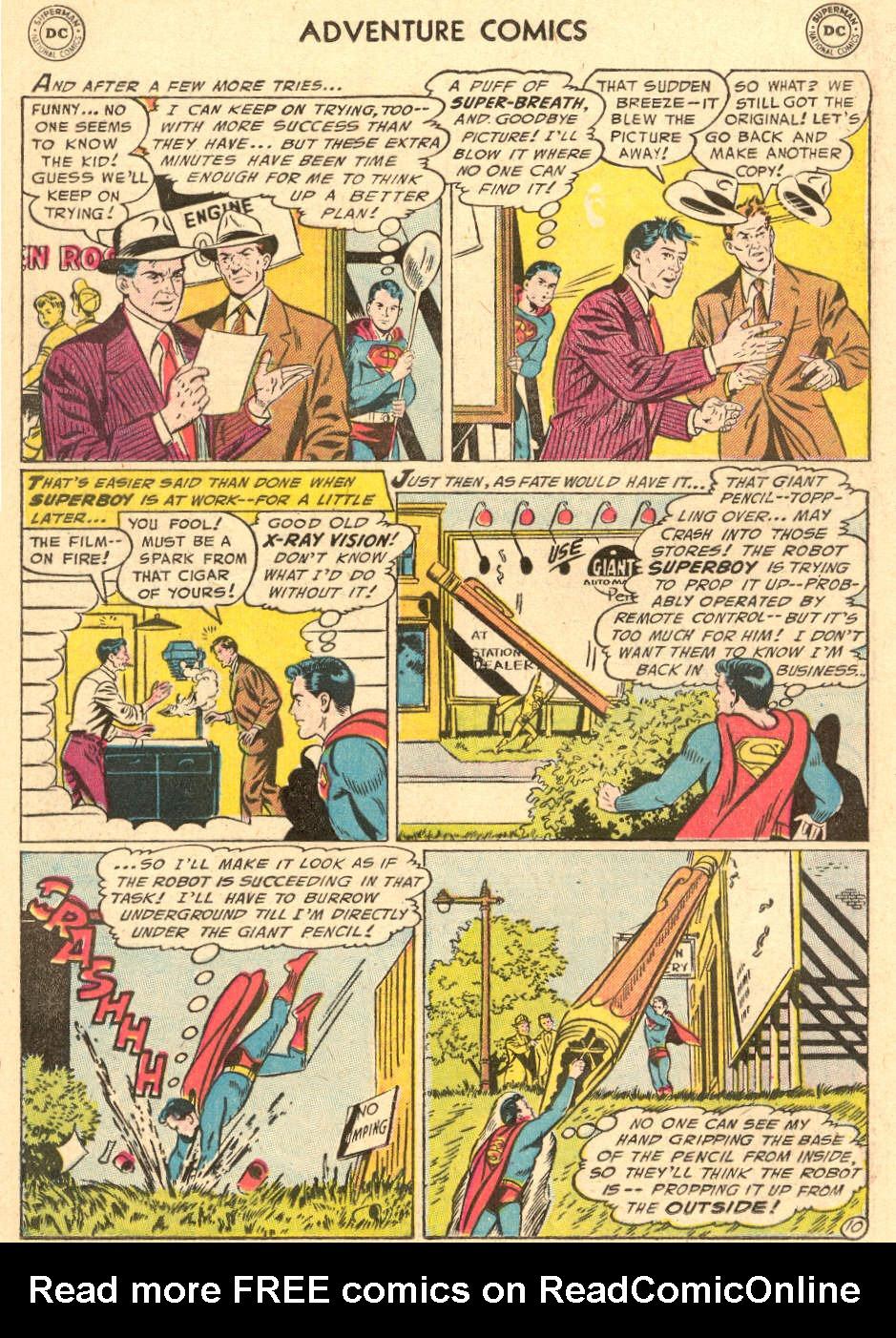 Read online Adventure Comics (1938) comic -  Issue #212 - 12